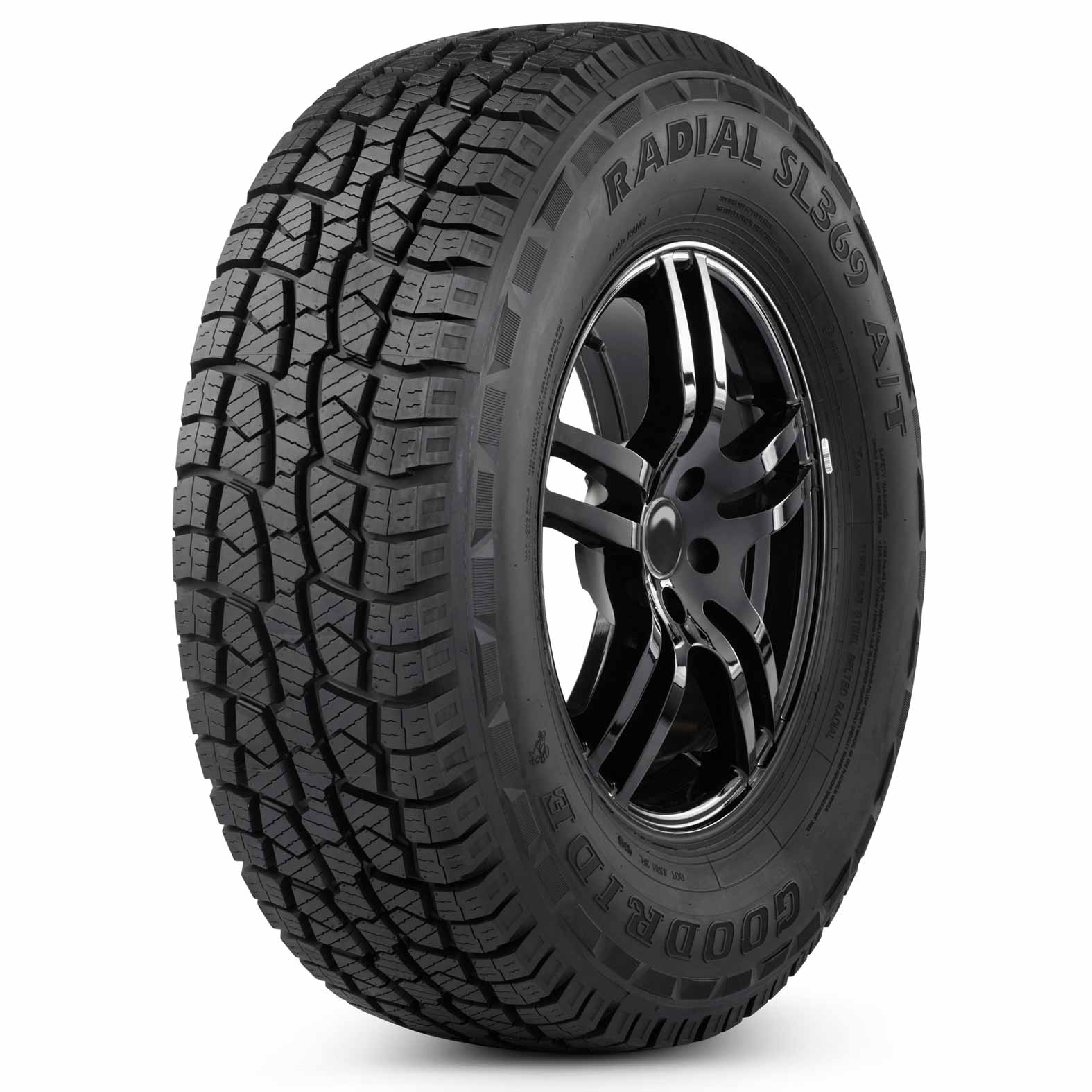 Goodride SL369 tire - angle