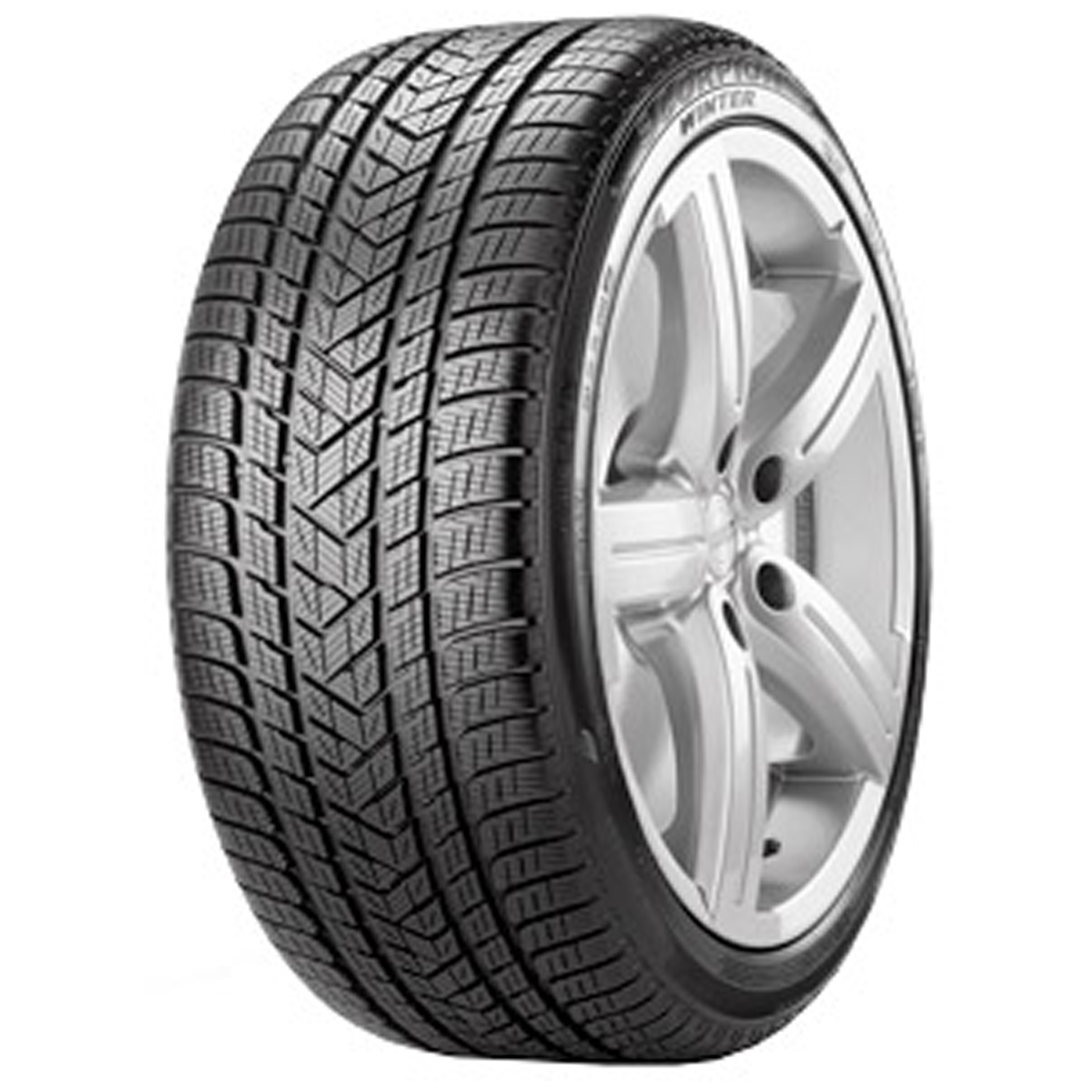Pirelli Scorpion Winter tire - angle