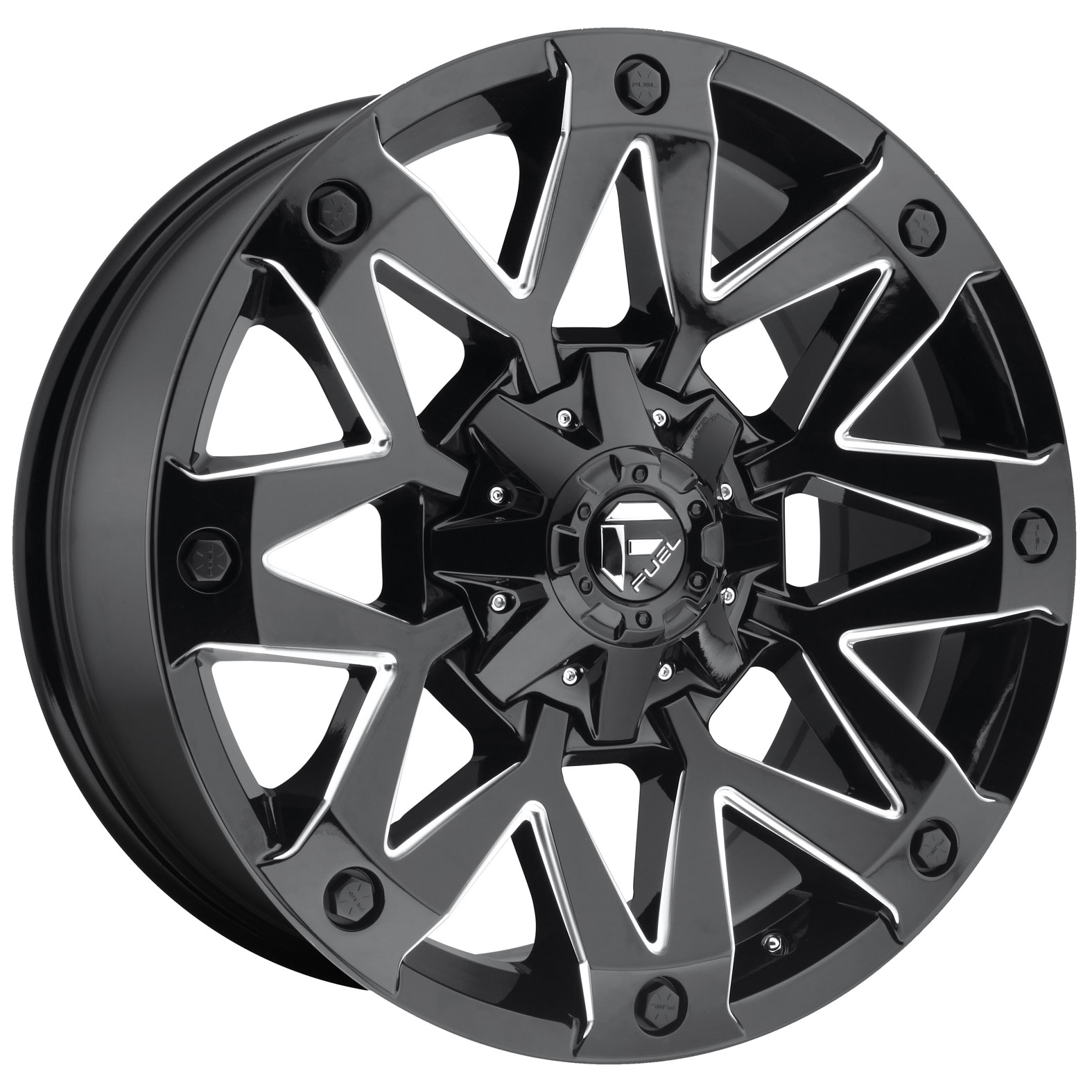 Fuel Ambush Black Gloss Wheel