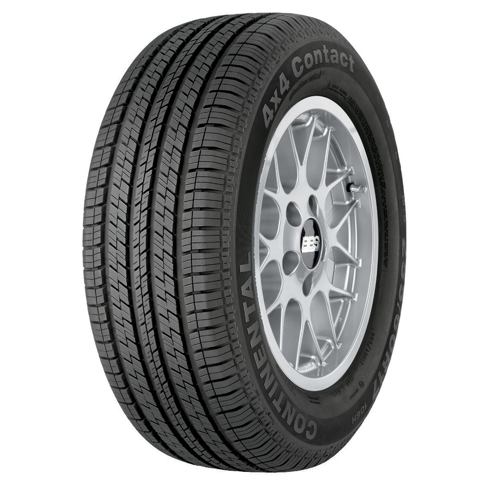 Continental CONTI4X4CONTACT tire - angle
