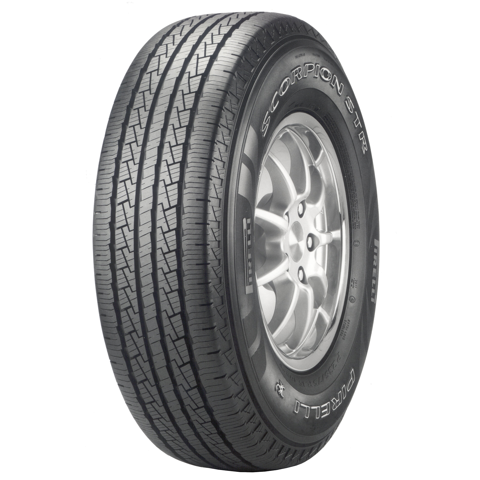 Pirelli Scorpion STR tire - angle