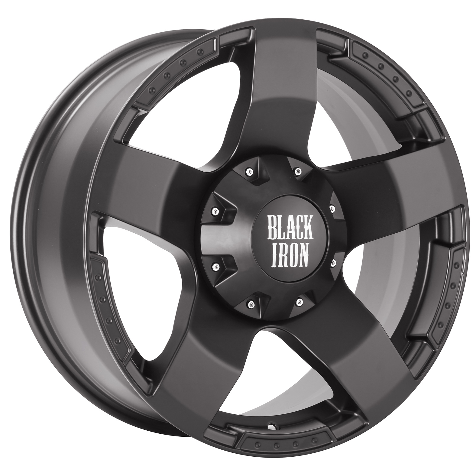 Black Iron Legend Black Wheel