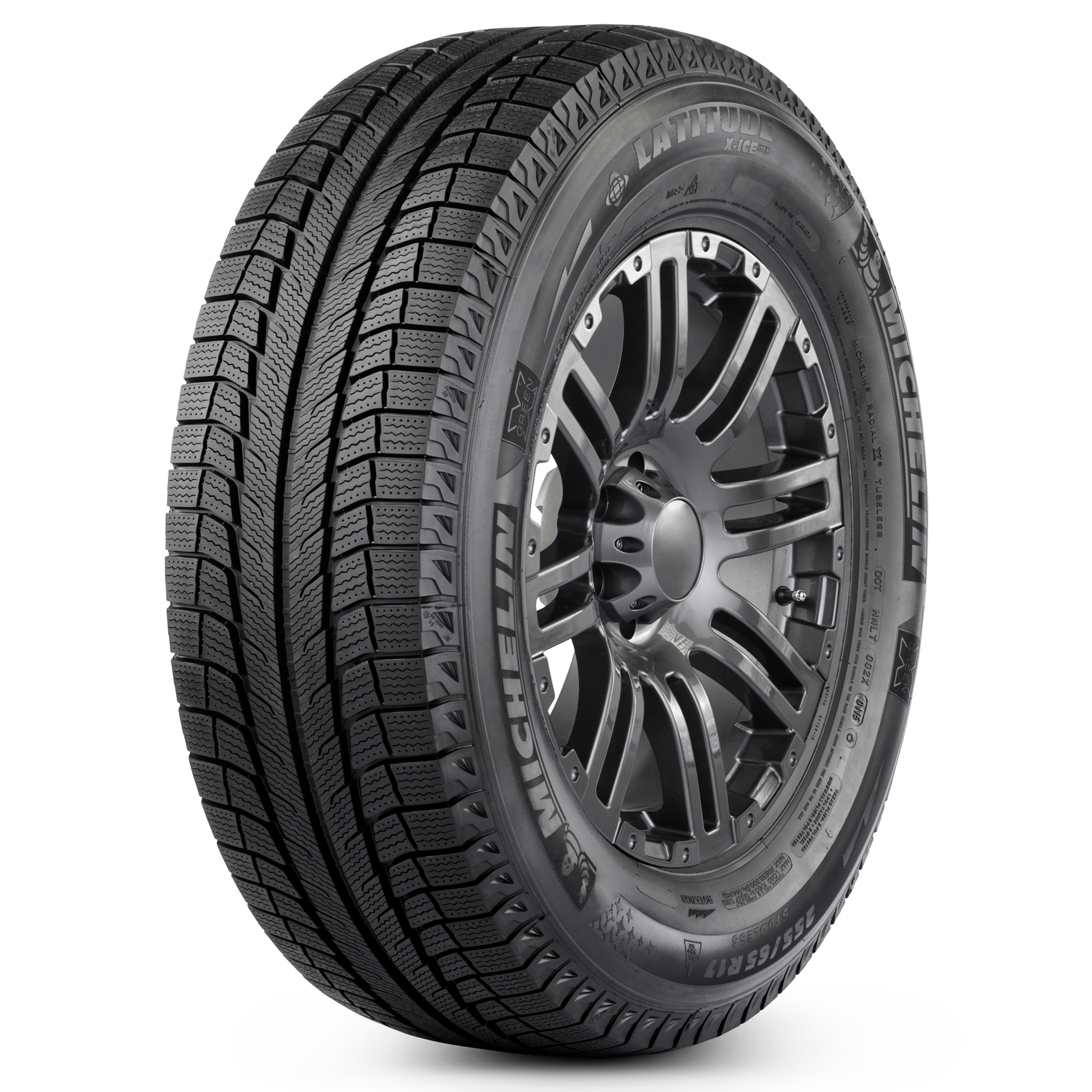 Michelin LATITUDE X-ICE XI2 tire - angle