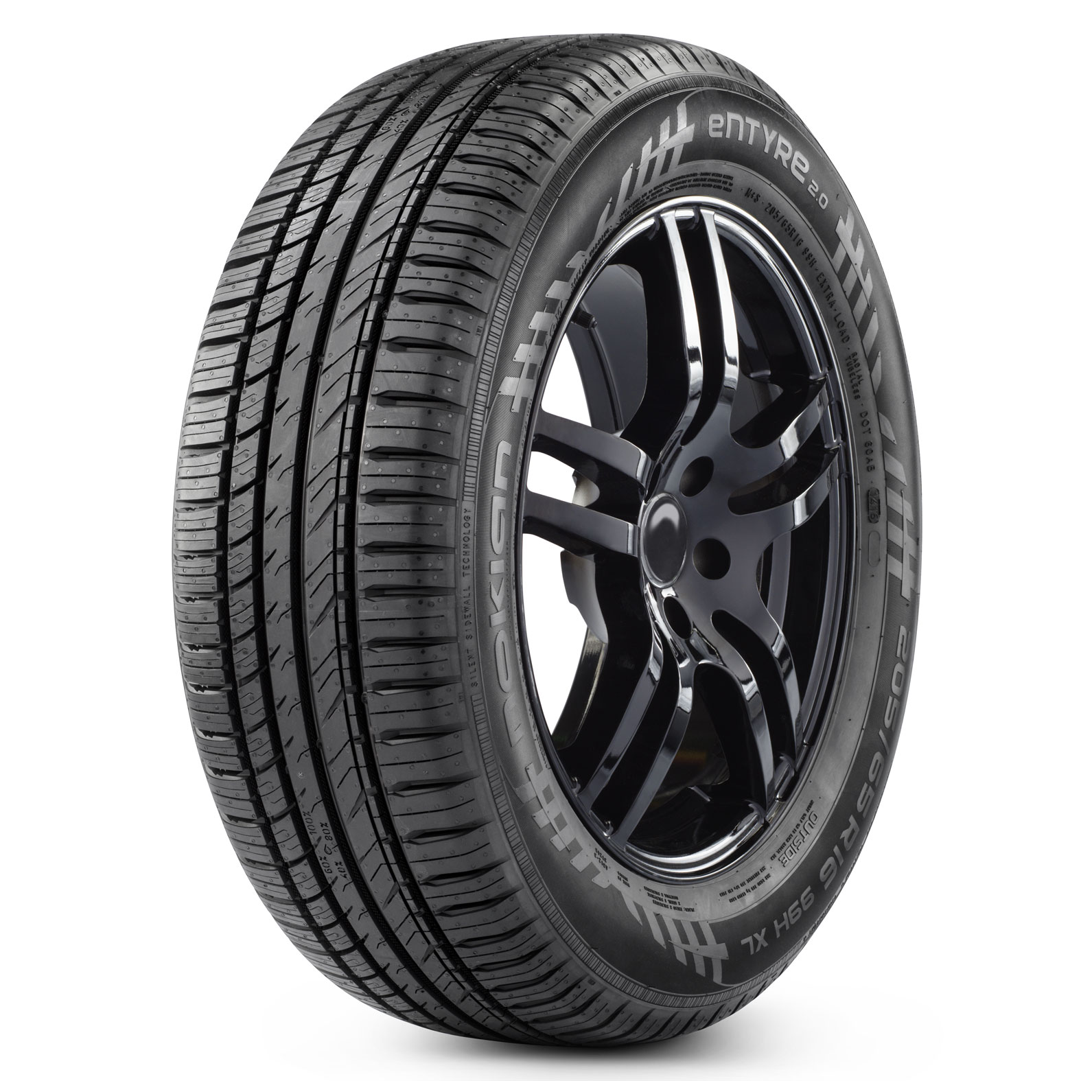 Nokian Tyres Entyre 2.0 tire - angle