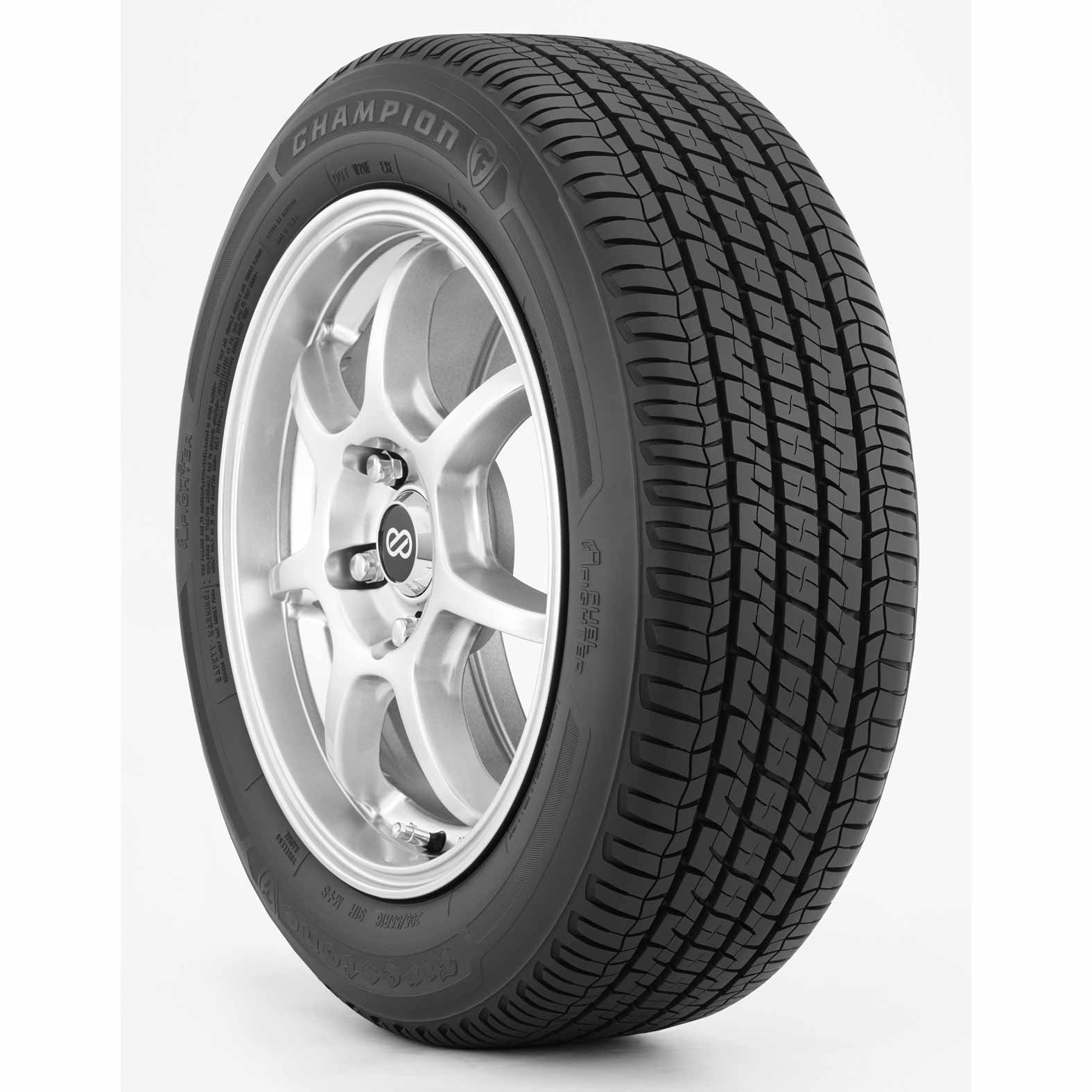 Firestone Champion Fuel Fighter tire - angle