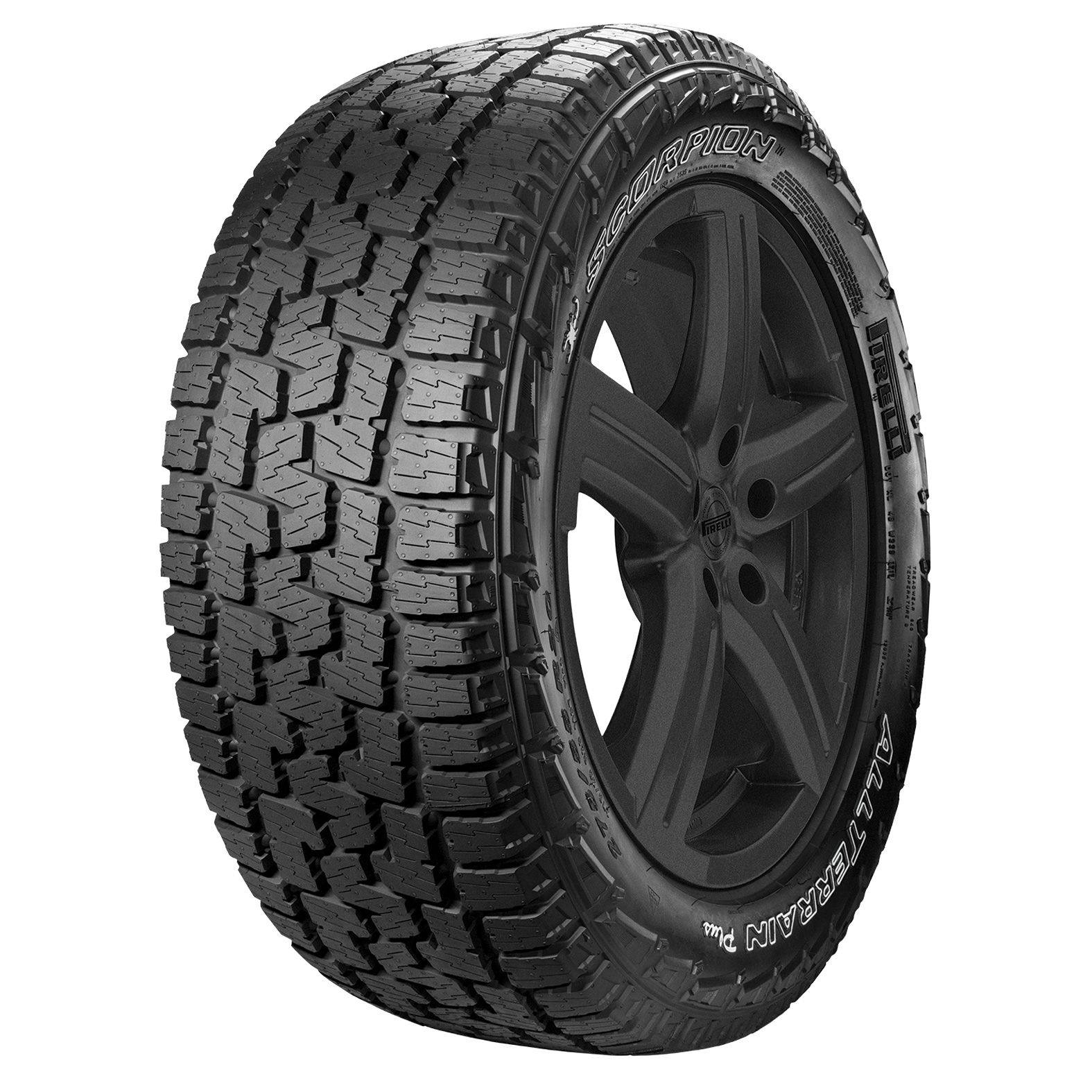 Pirelli Scorpion All Terrain Plus tire - angle