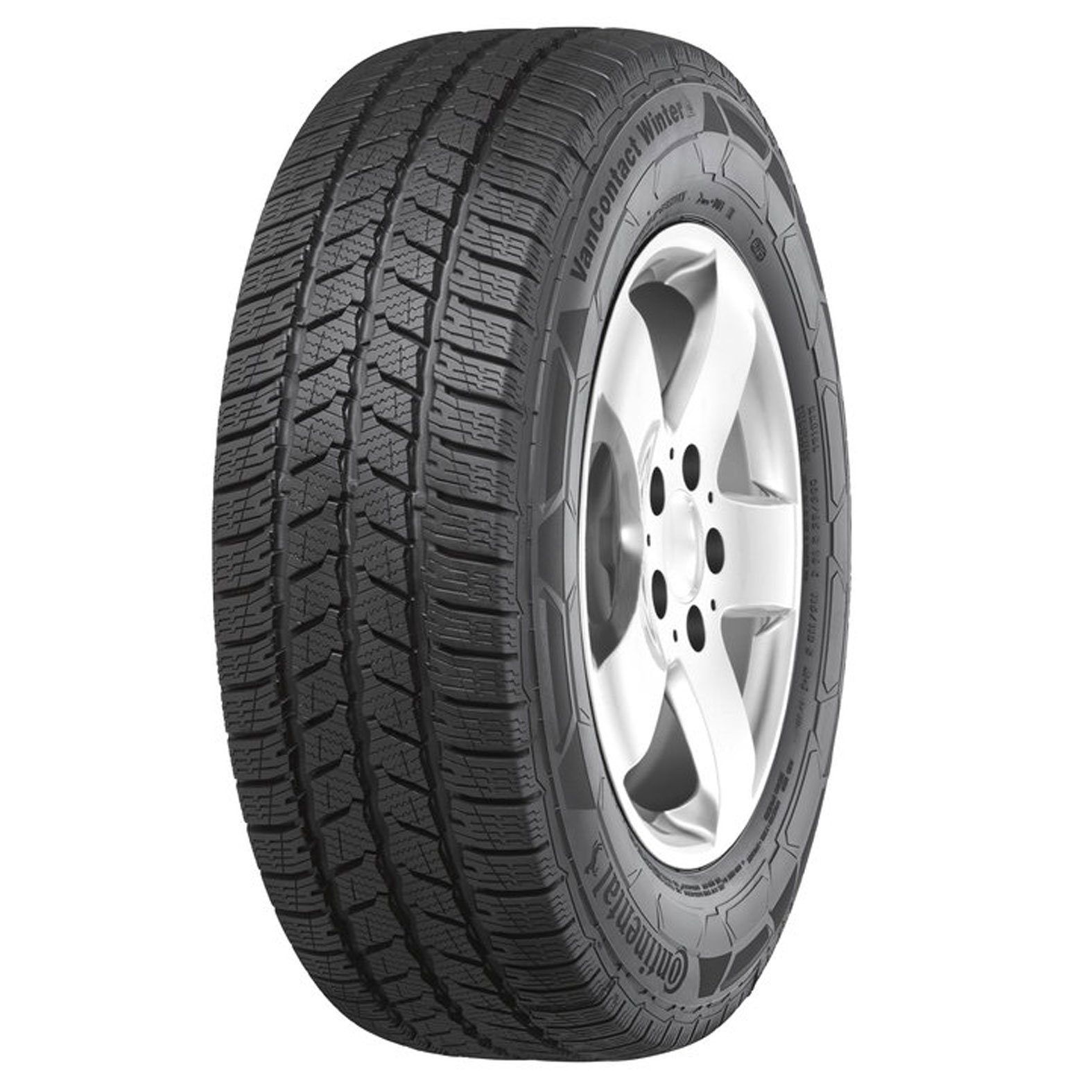 Continental VAN CONTACT WINTER tire - angle
