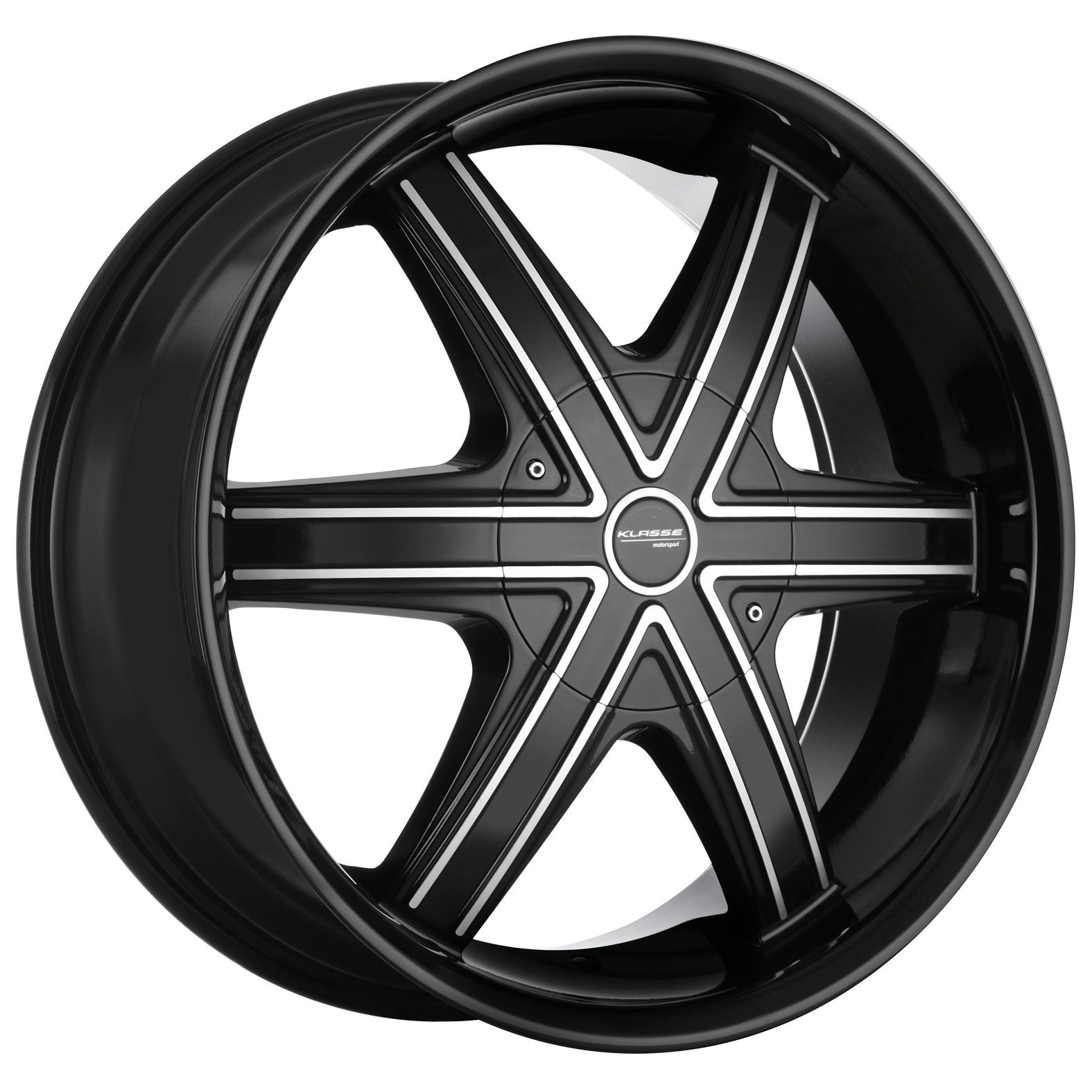 Klasse Cypher Black Gloss Titanium Wheel