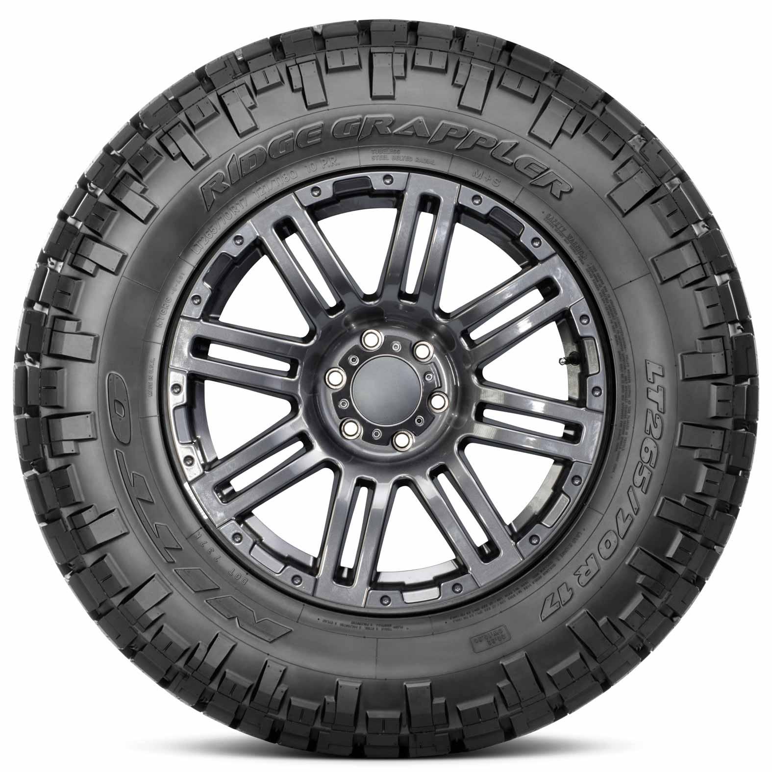 Nitto Ridge Grappler Sizes >> Nitto Ridge Grappler Tires
