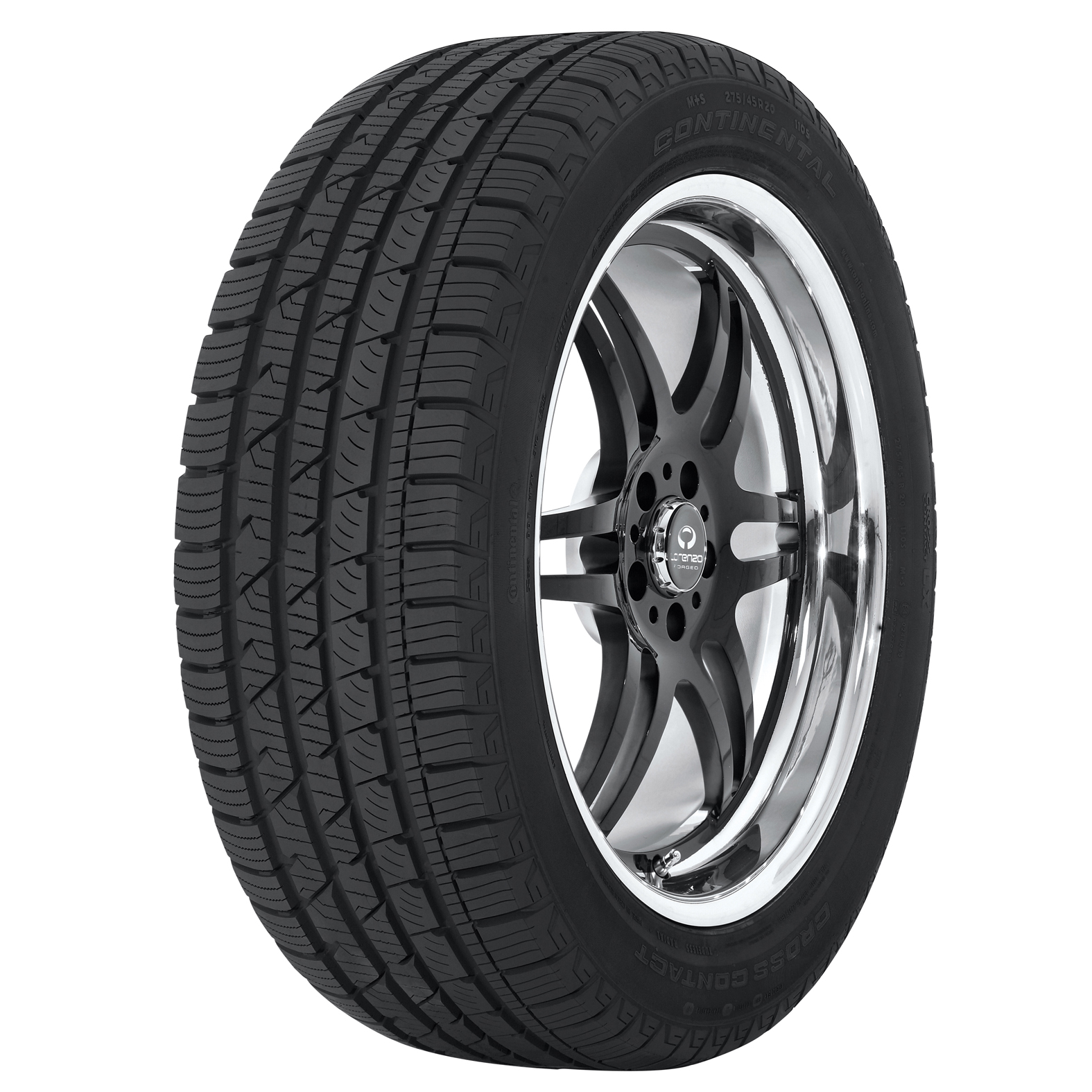 Continental CONTICROSSCONTACT LX tire - angle