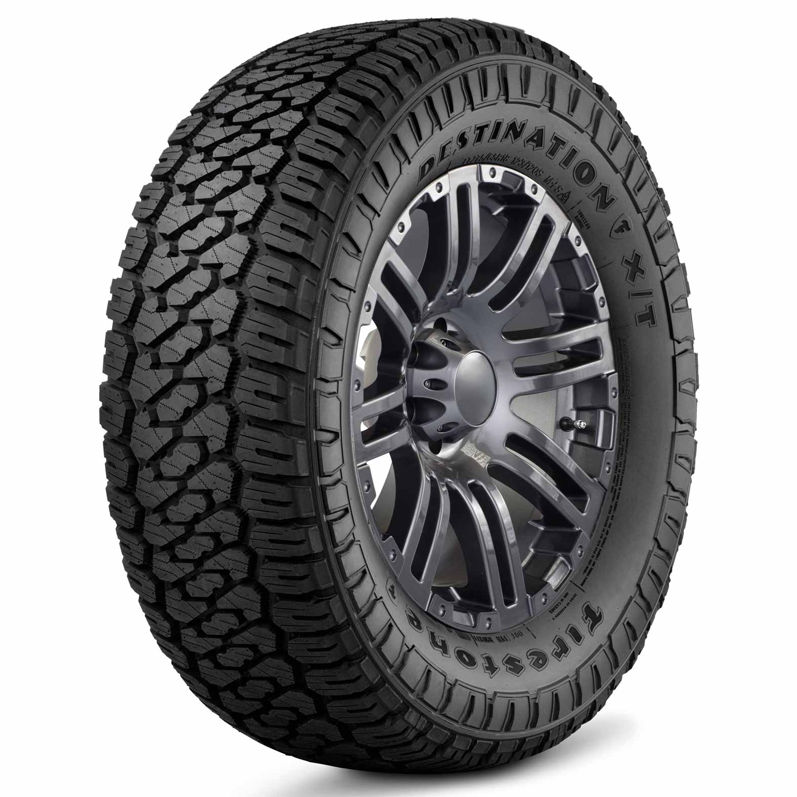 Firestone Destination X/T tire - angle