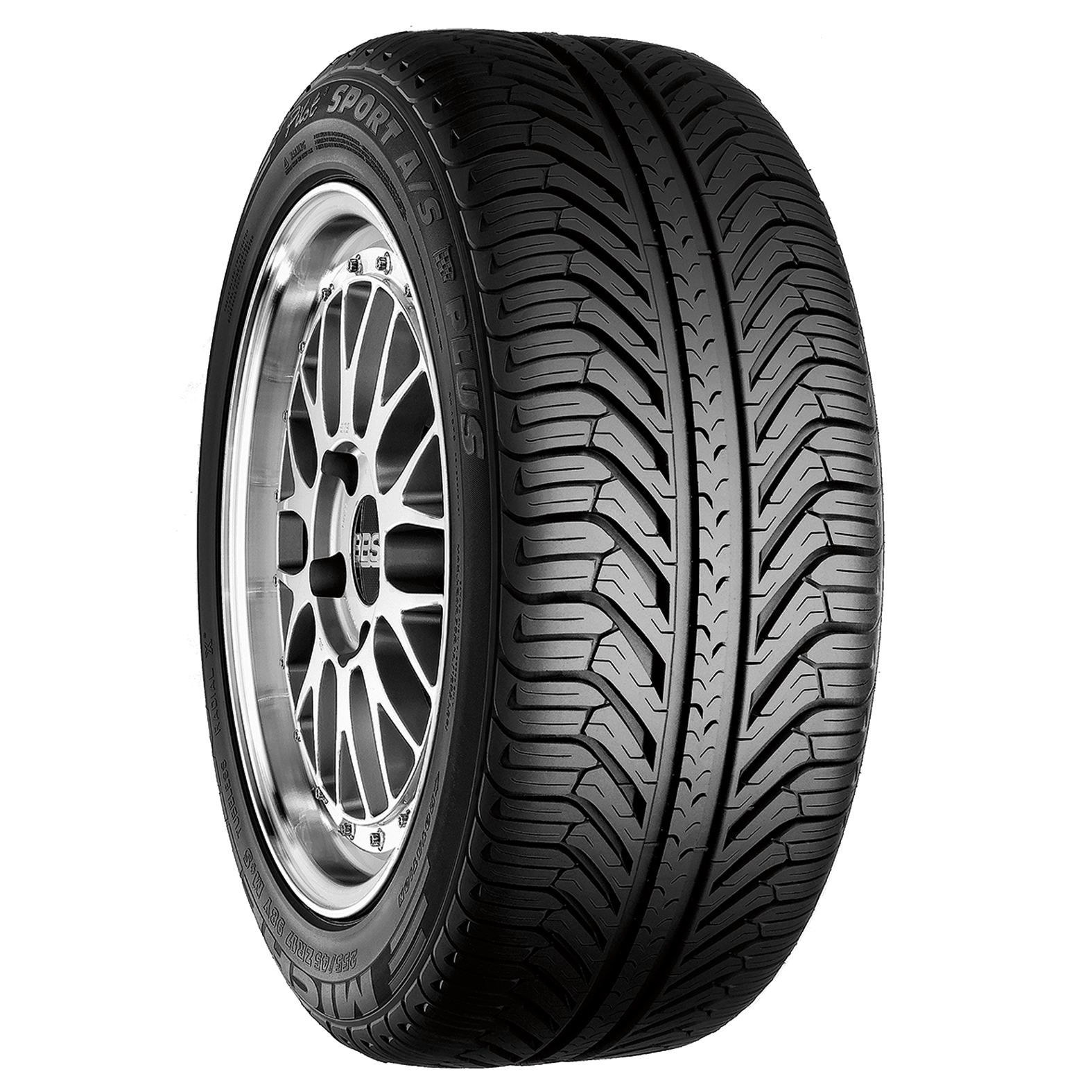Michelin PILOT SPORT A/S PLUS tire - angle