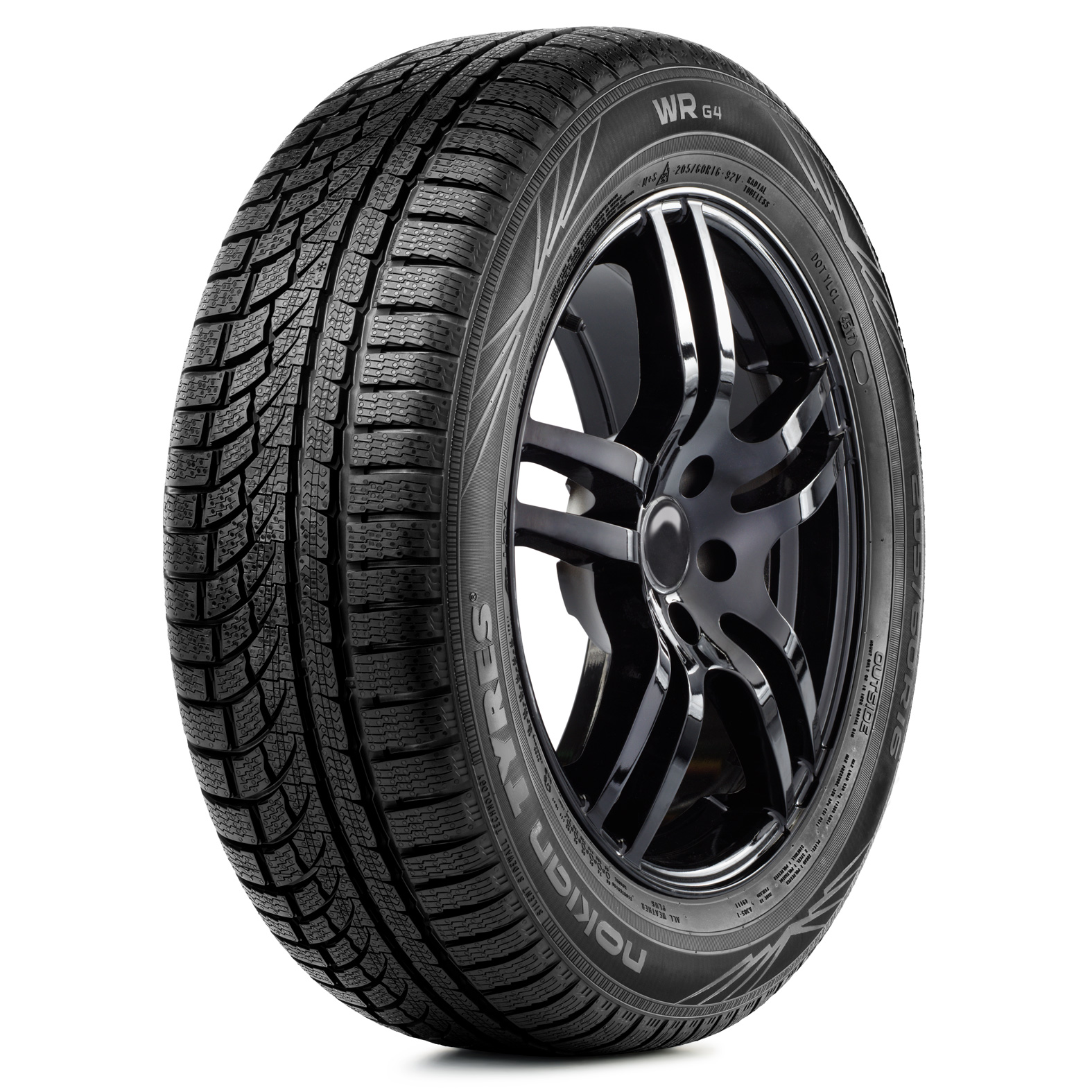 Nokian Tyres WRG4 tire - angle