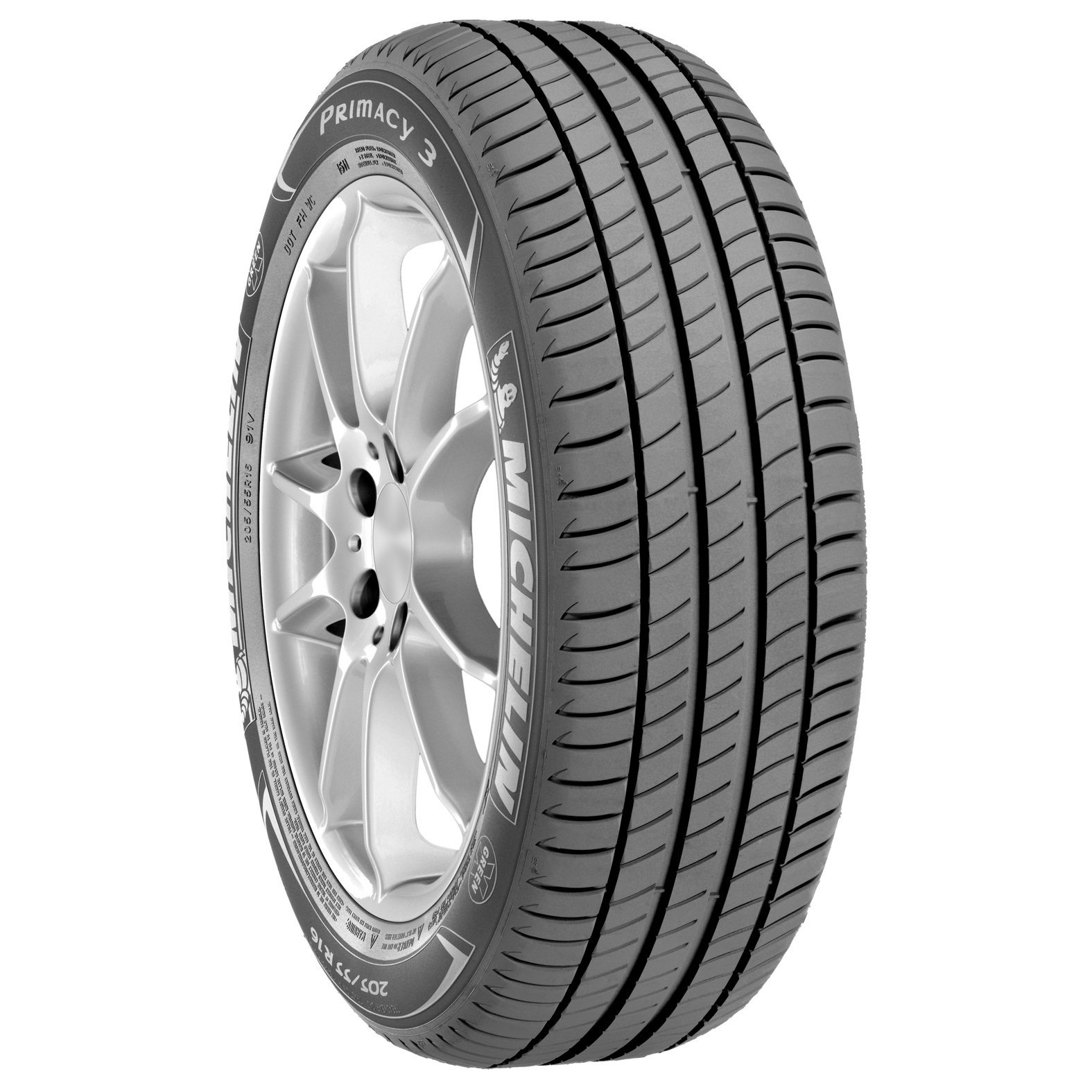 Michelin PRIMACY 3 tire - angle