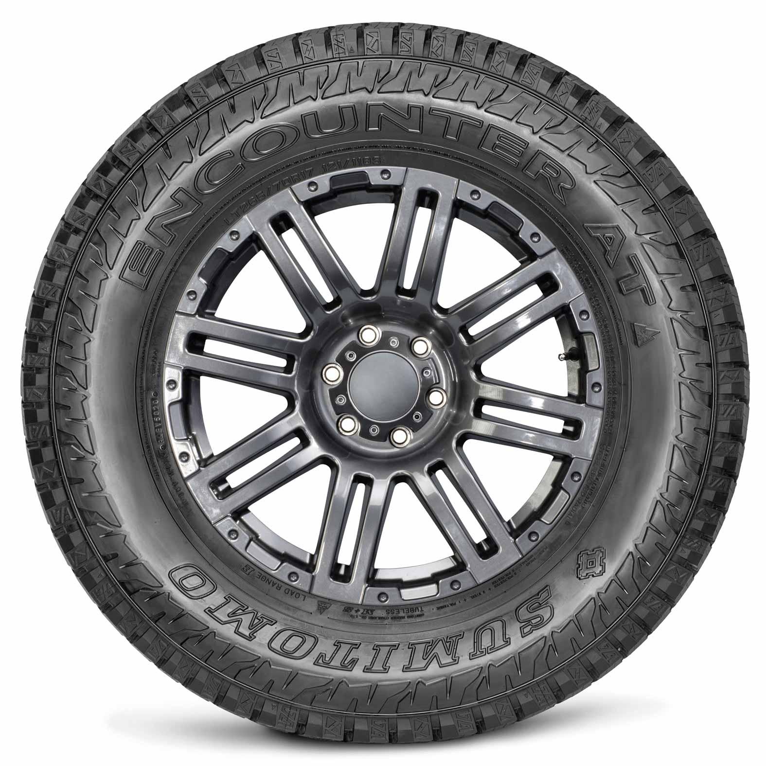 Sumitomo Encounter AT AT All Season Radial Tire-275//65R18 123S