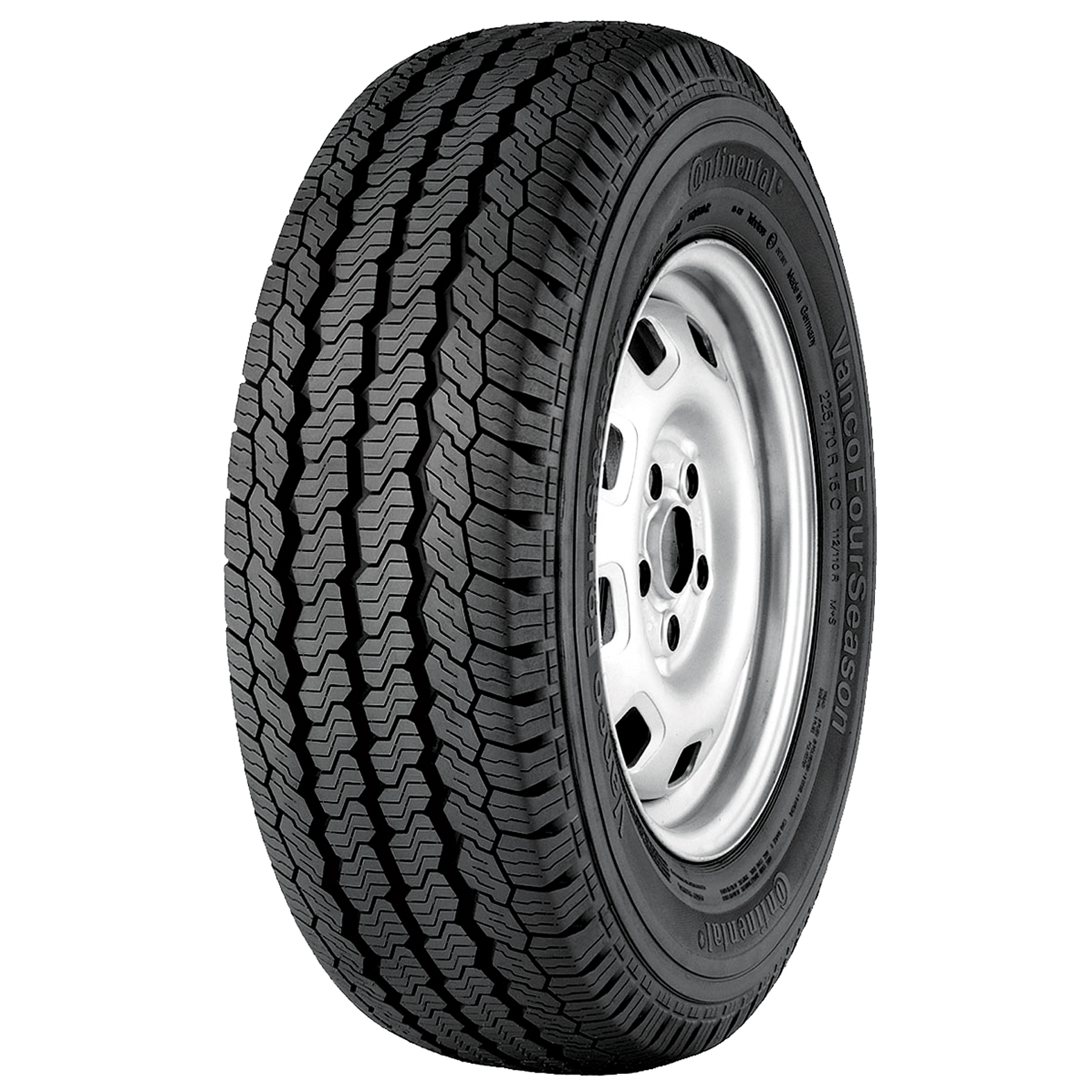Continental VANCO 4 SEASON tire - angle