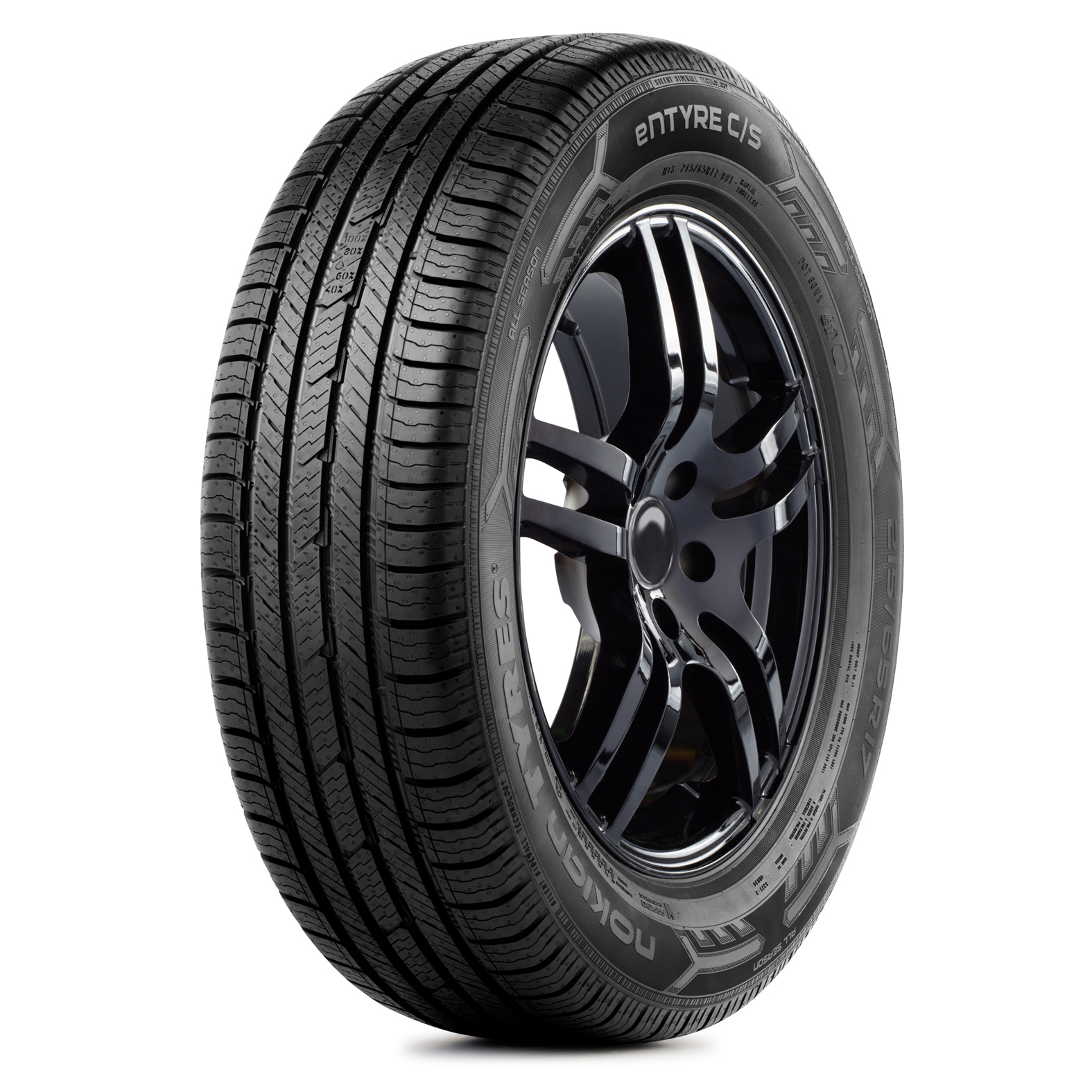 Nokian Tyres Entyre C/S tire - angle