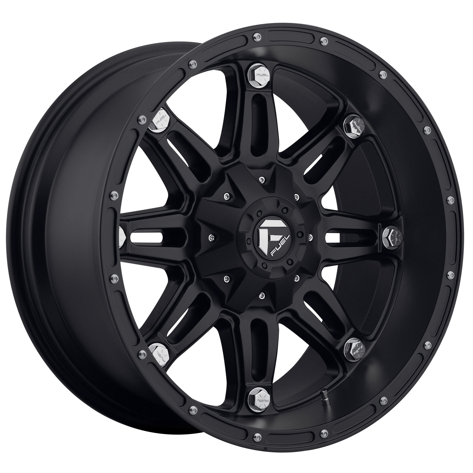 Fuel Hostage Black Matte Wheel
