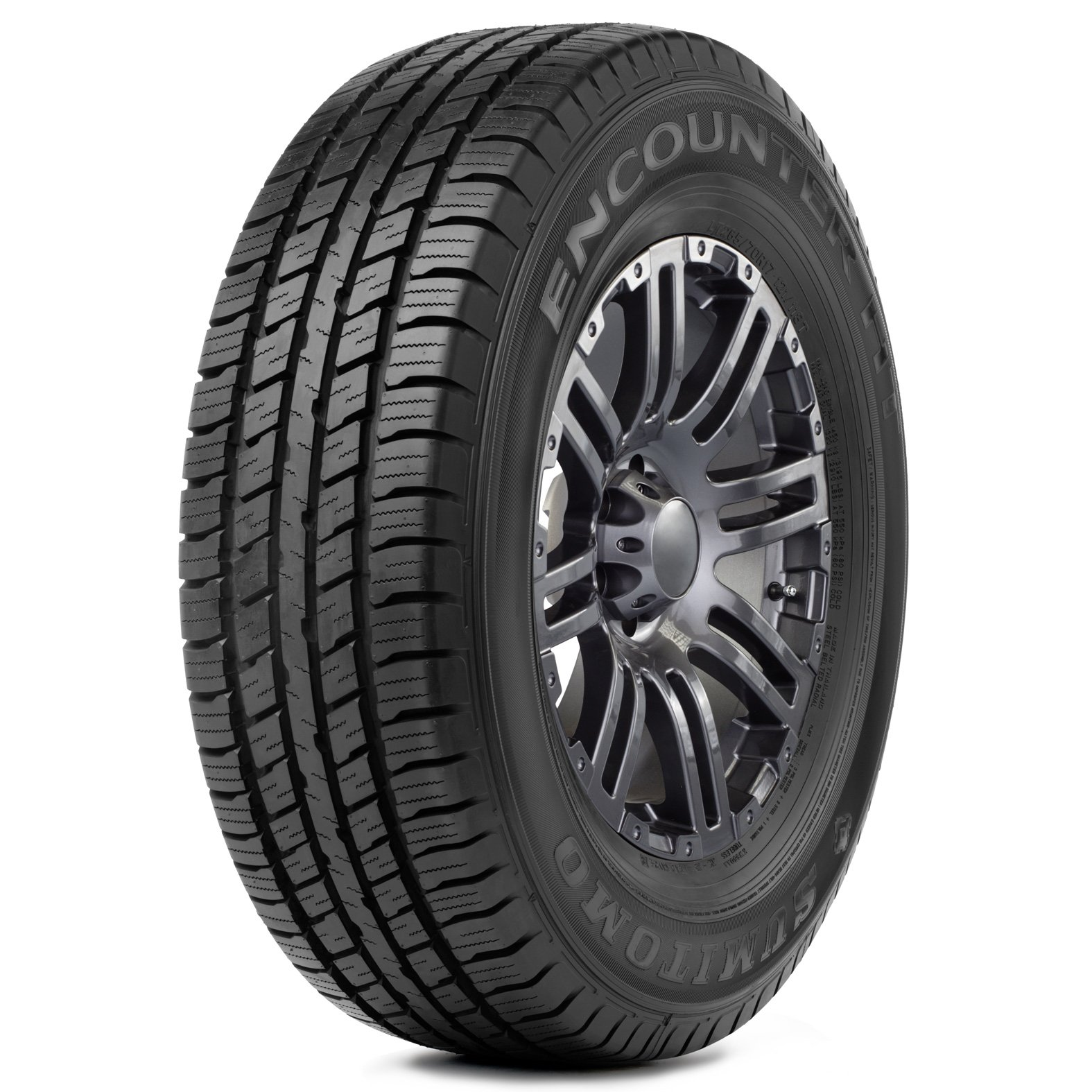 Sumitomo Encounter HT tire – angle