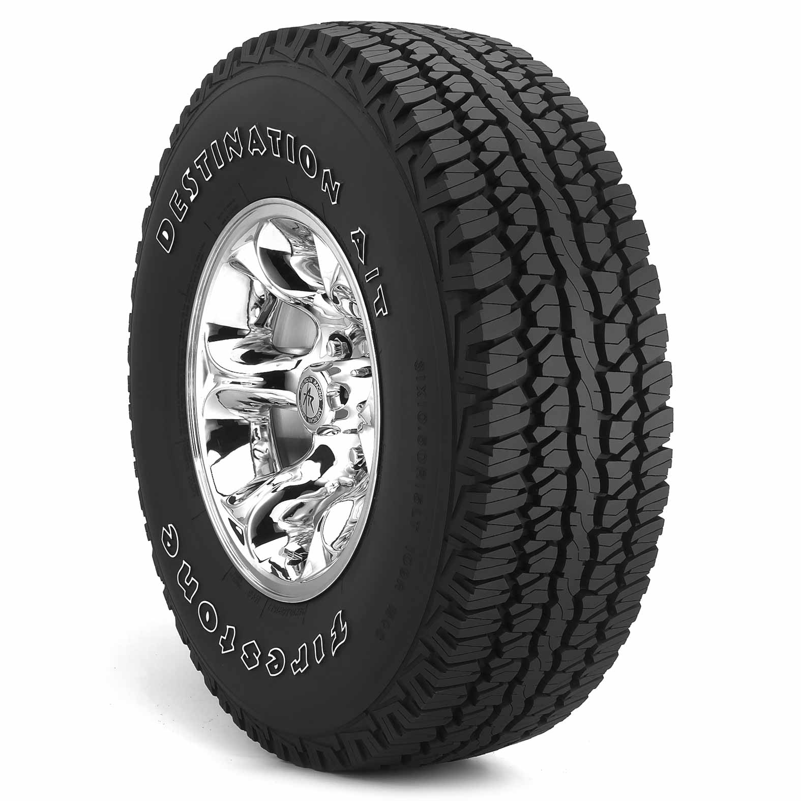 Firestone Destination A/T tire - angle