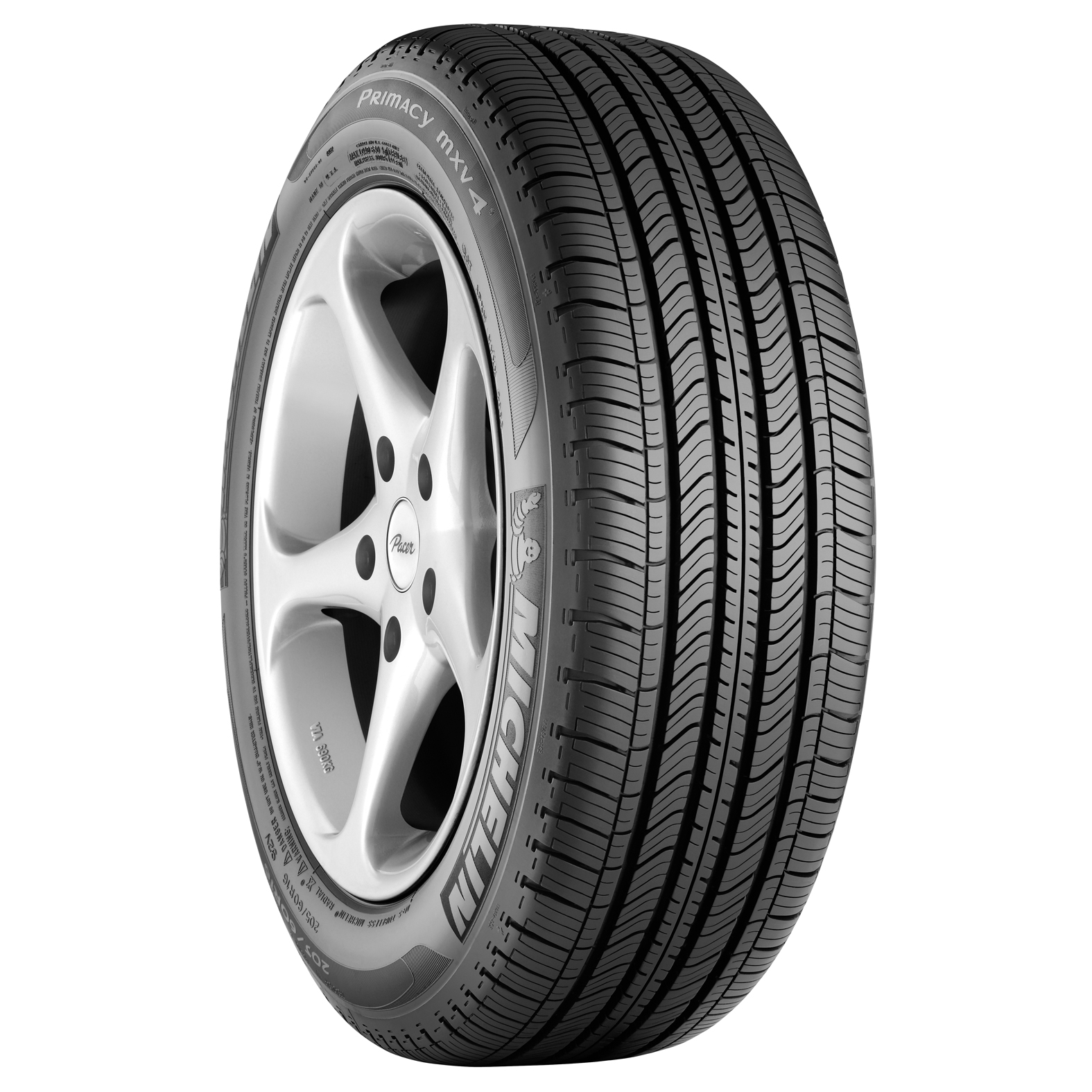 Michelin PRIMACY MXV4 tire - angle