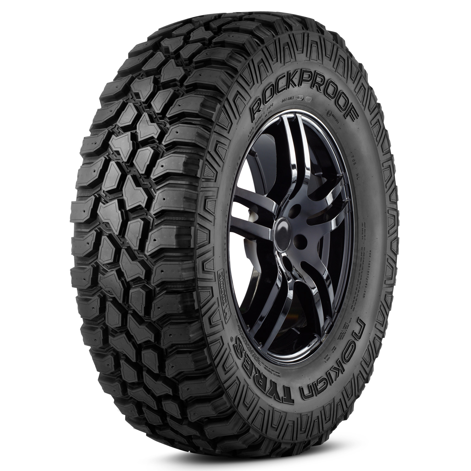 Nokian Tyres Rockproof tire - angle