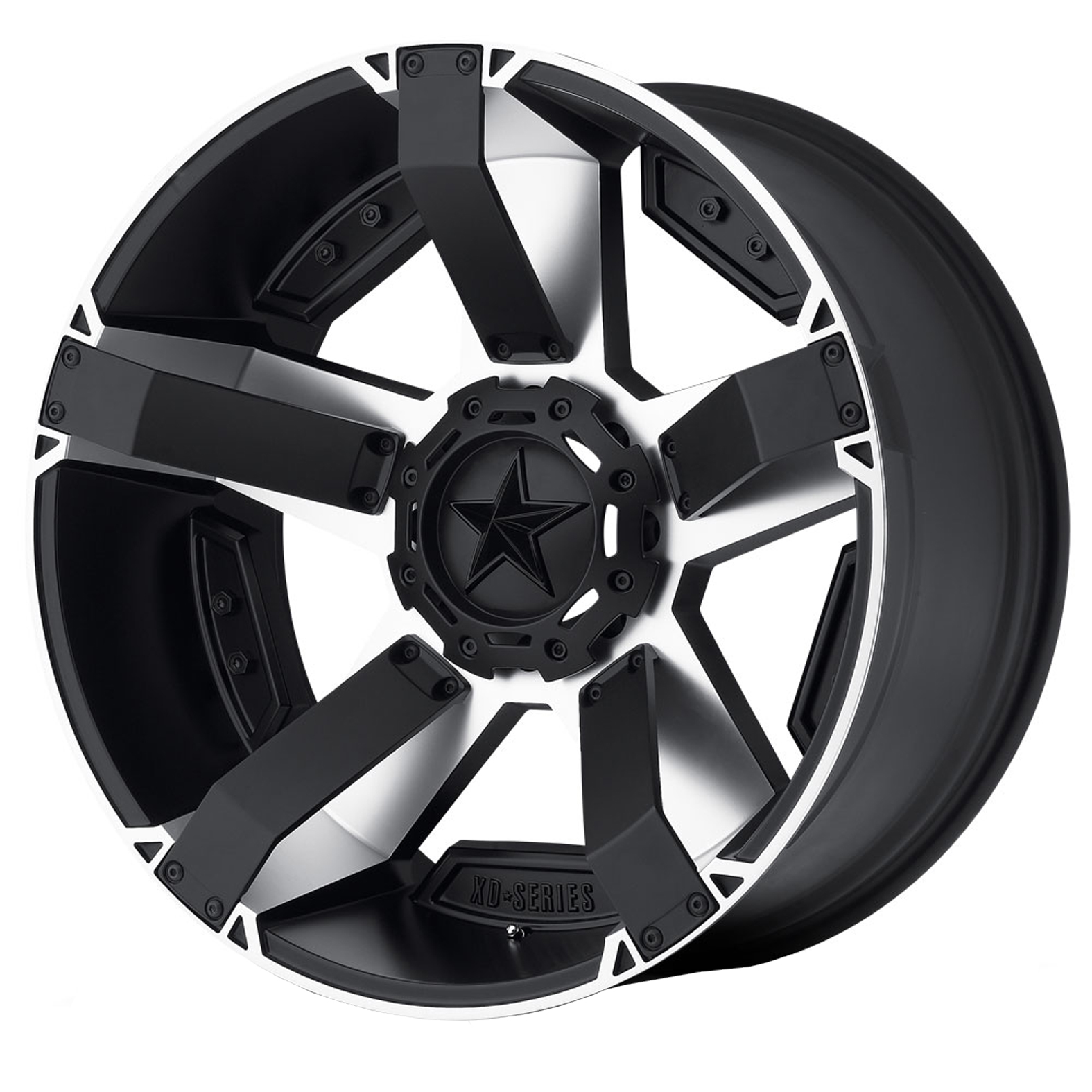 XD Series Rockstar 2 Machined Black Wheel