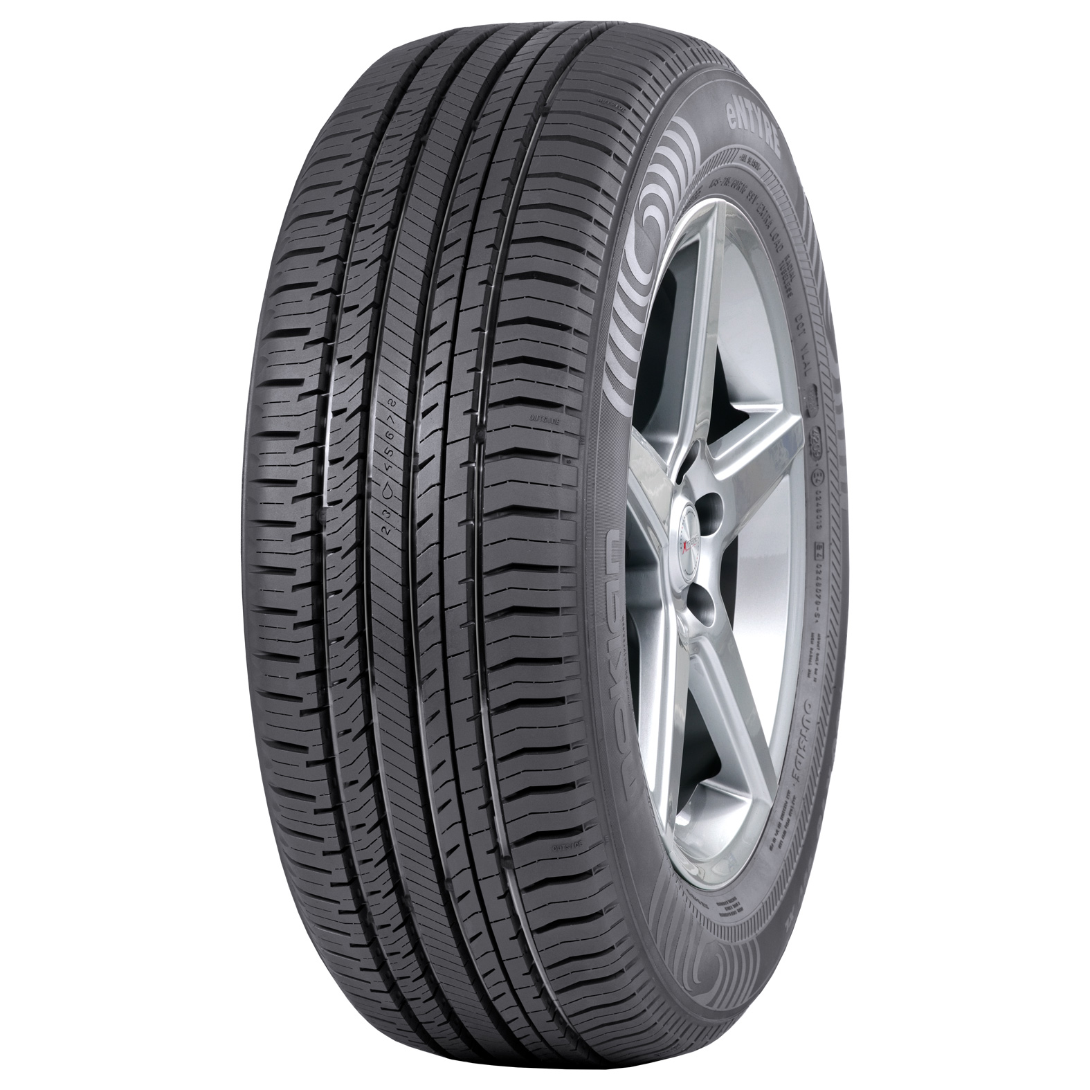 Nokian Tyres entyre tire - angle