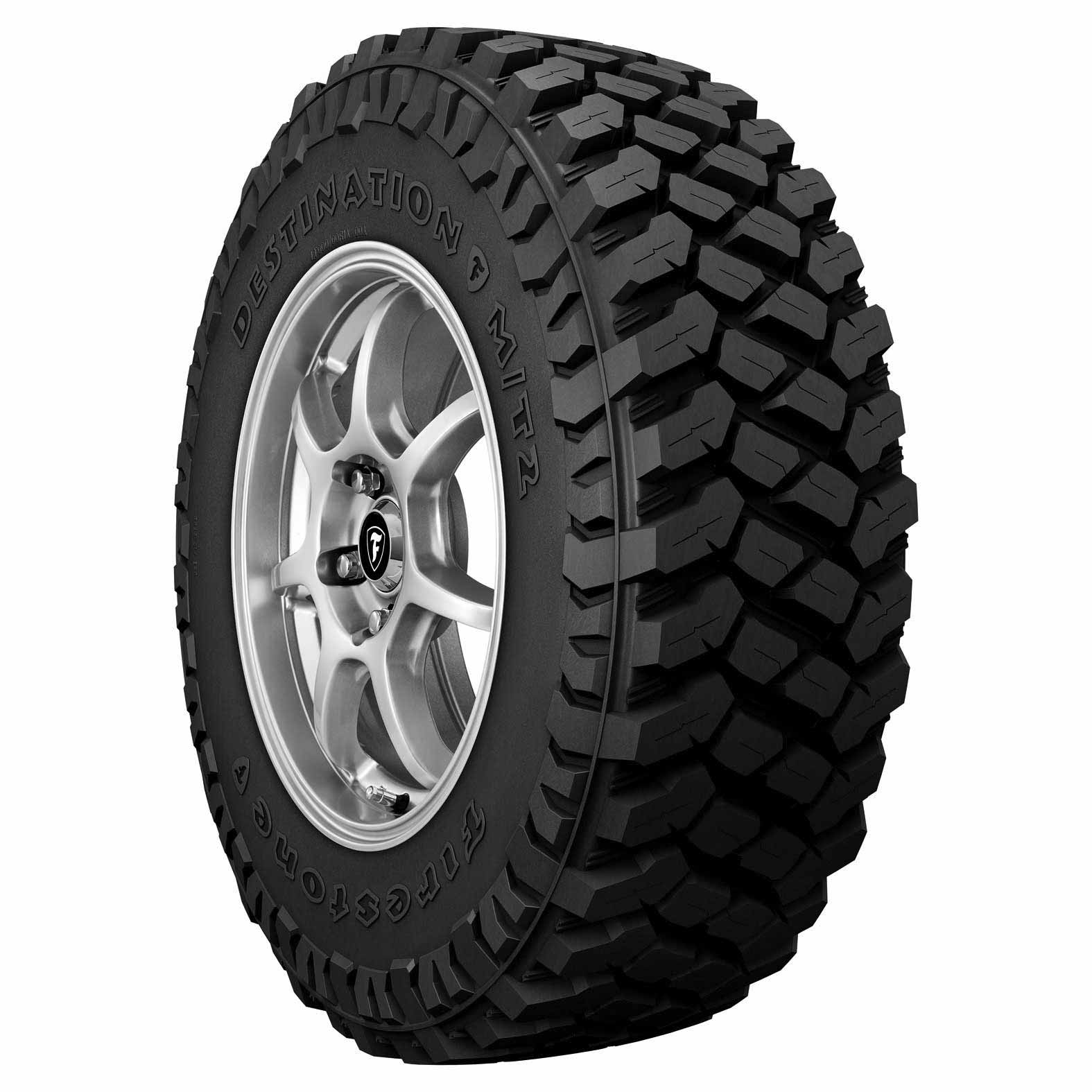 Firestone Destination M/T2 tire - angle