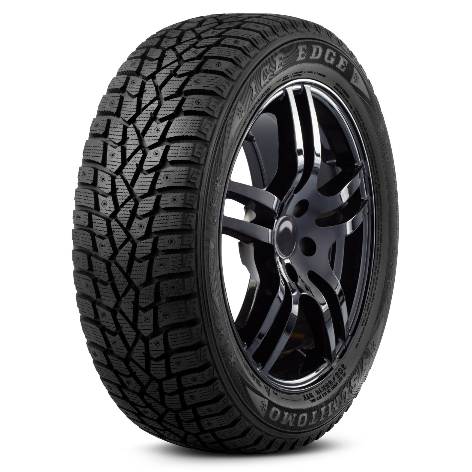 Sumitomo Ice Edge tire – angle