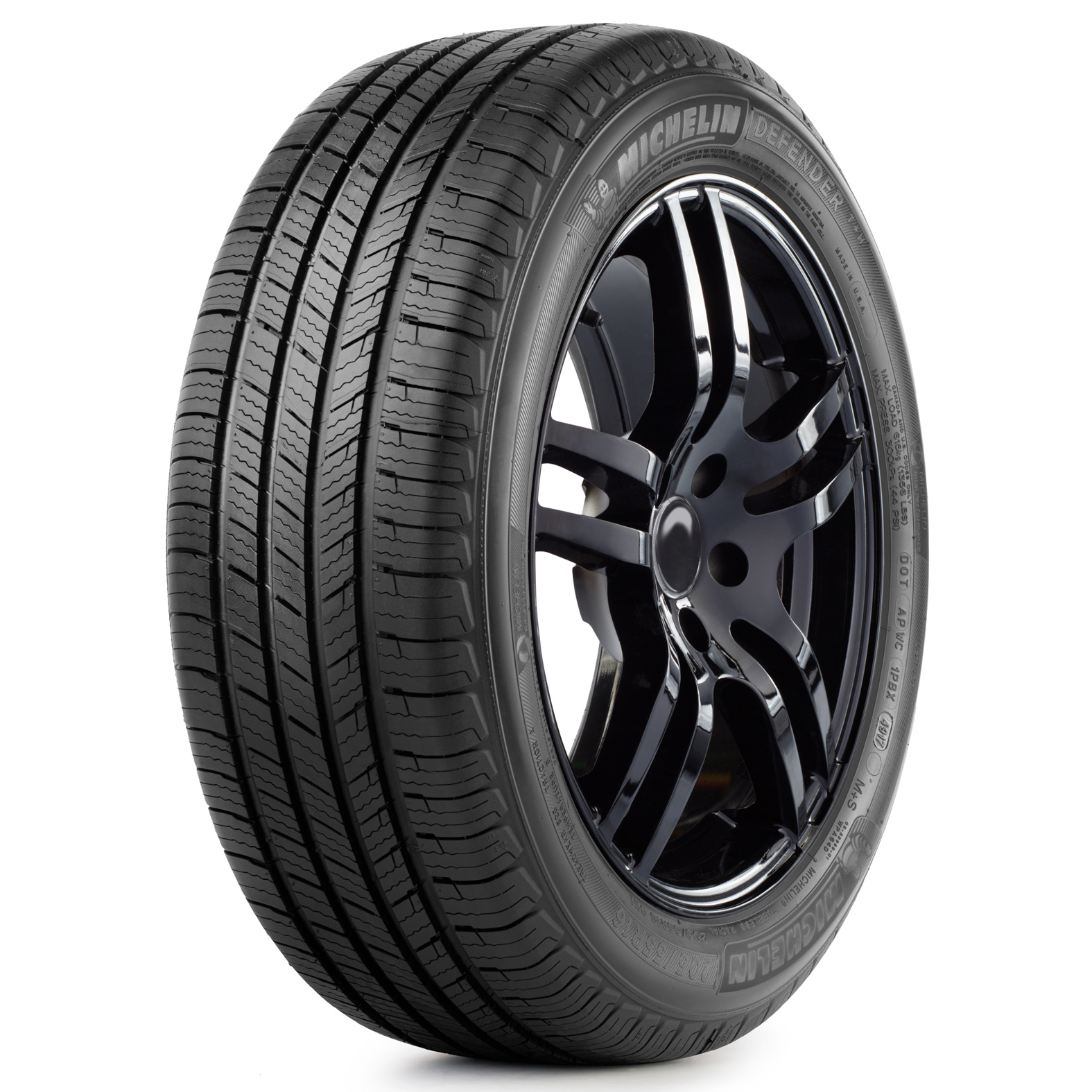 Michelin DEFENDER T+H tire - angle