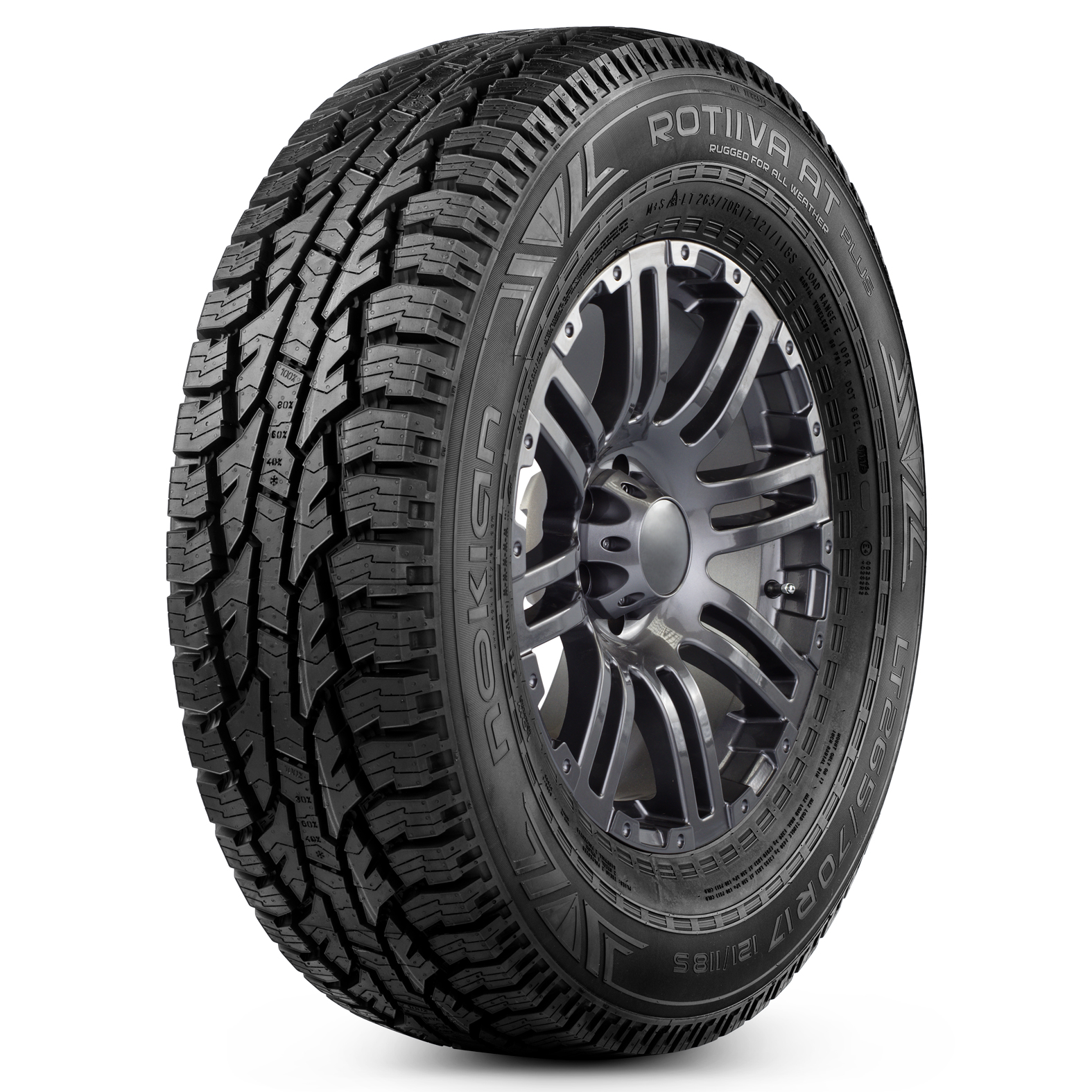 Nokian Tyres Rotiiva AT Plus tire - angle