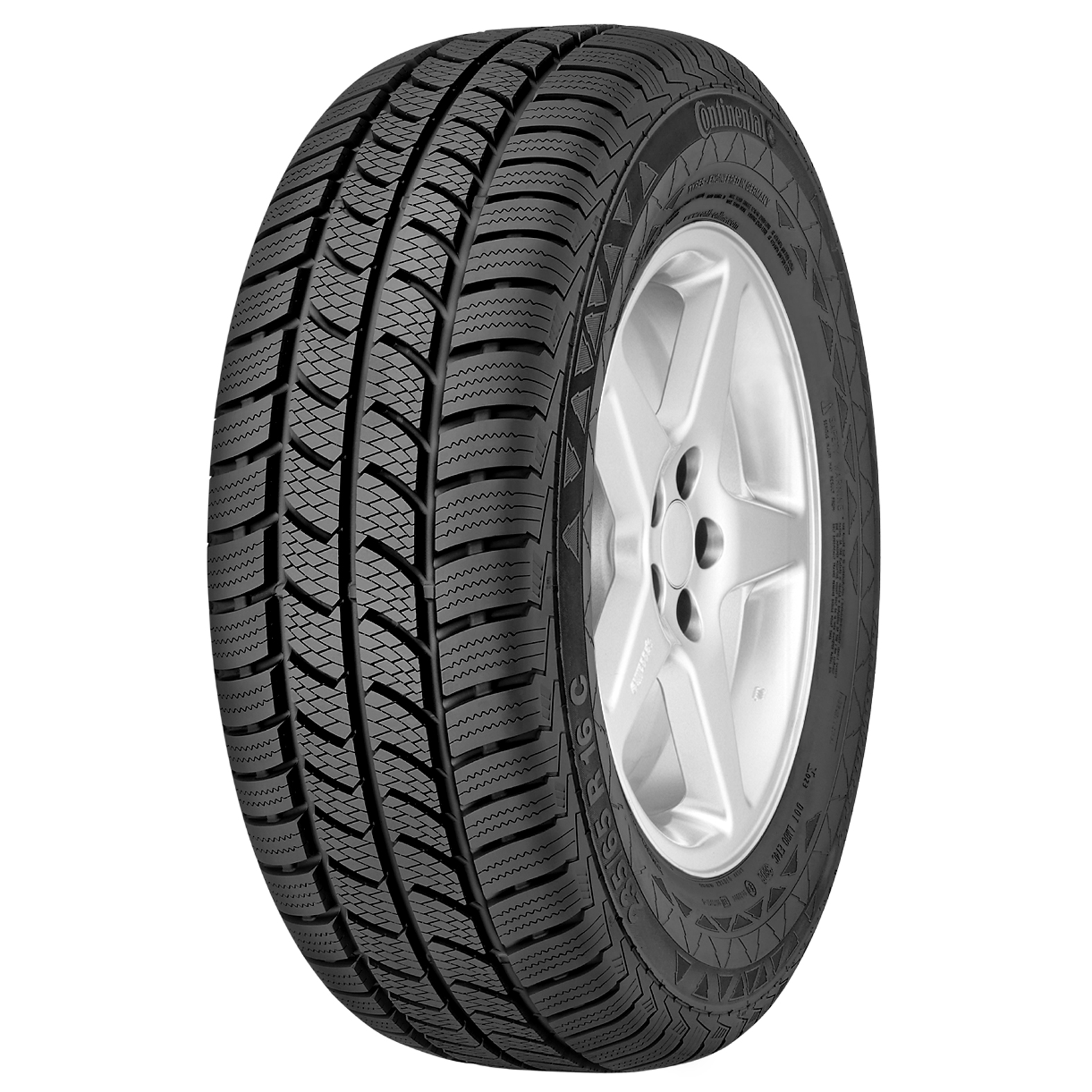 Continental VANCO 2 tire - angle