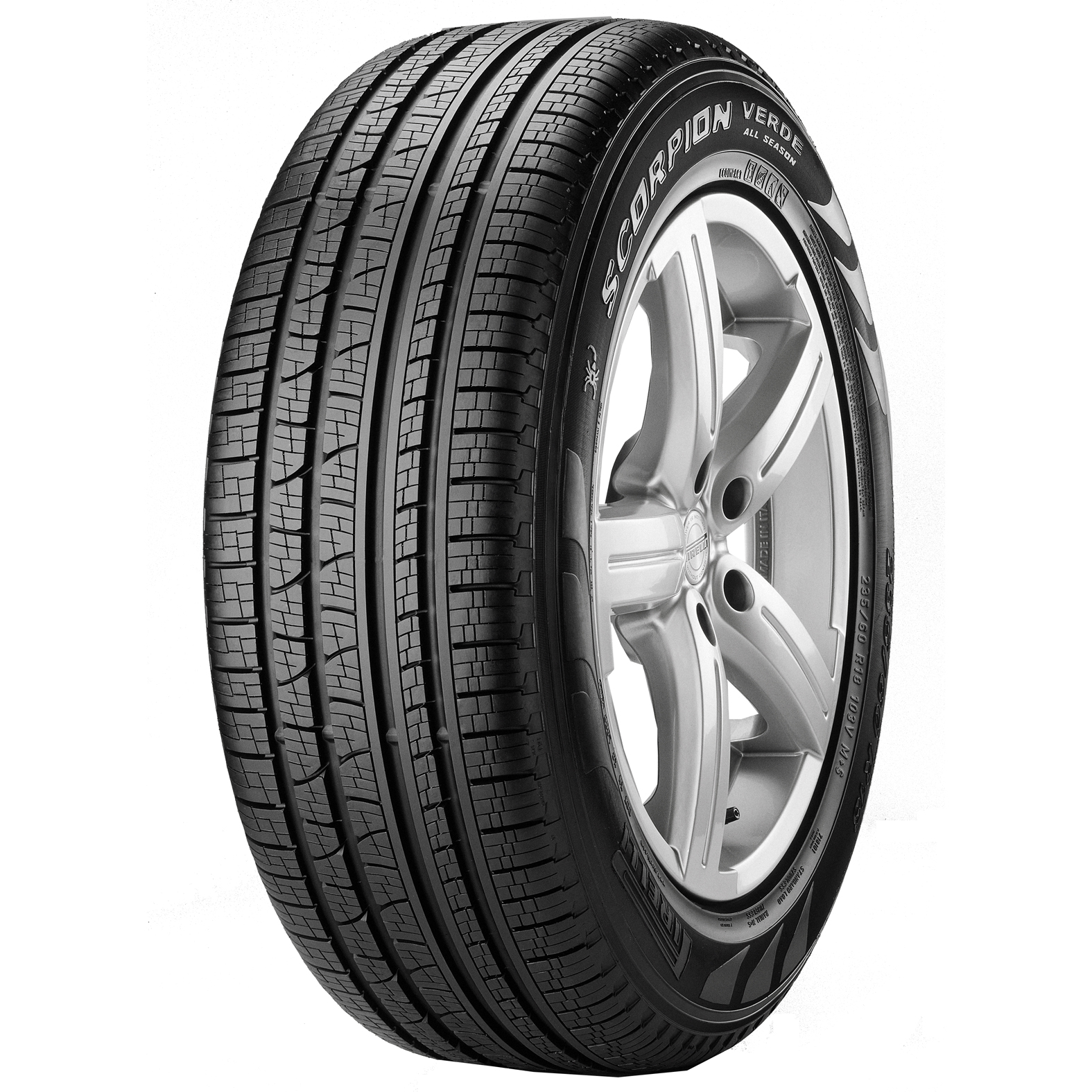Pirelli Scorpion Verde All Season tire - angle