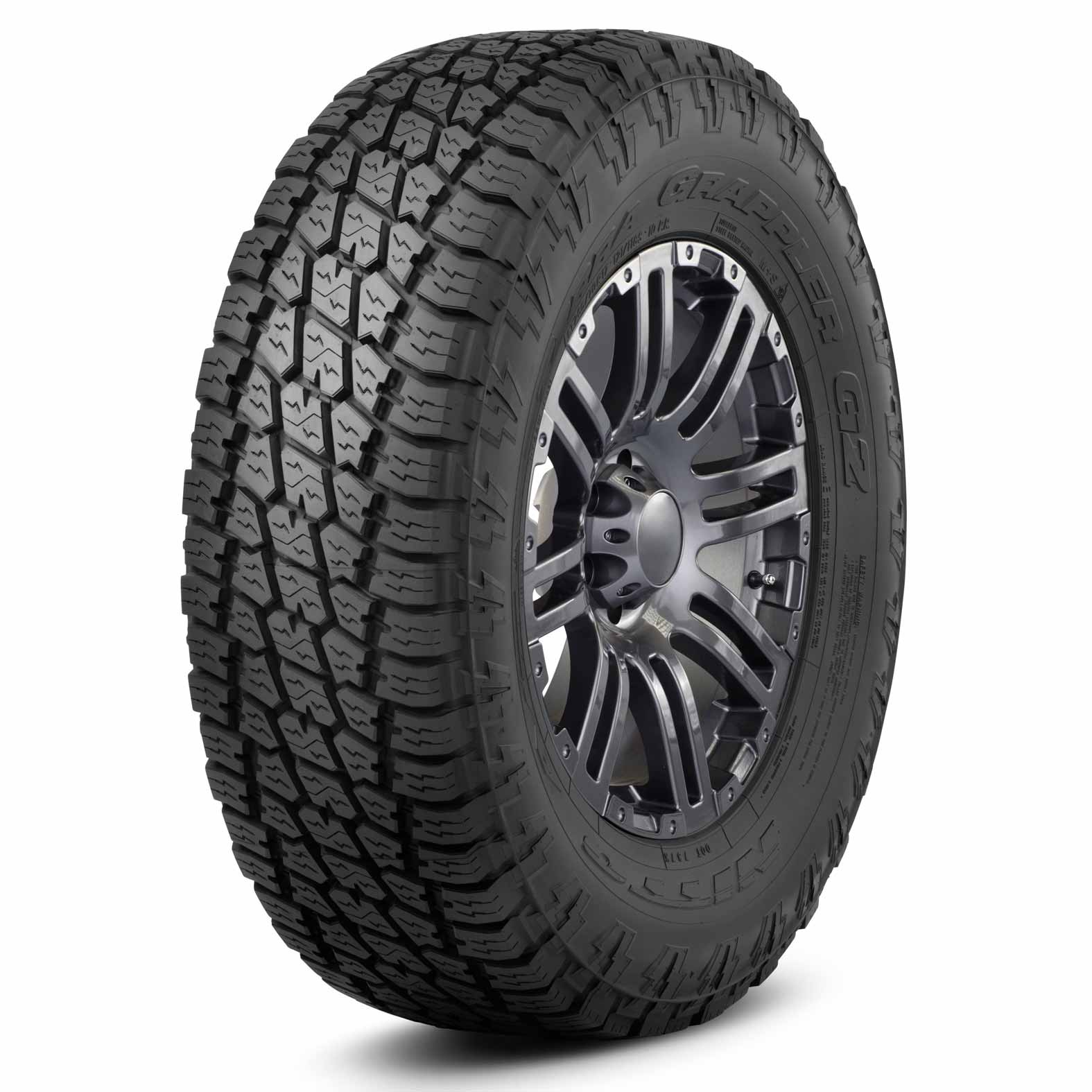 Nitto Terra Grappler G2W tire - angle