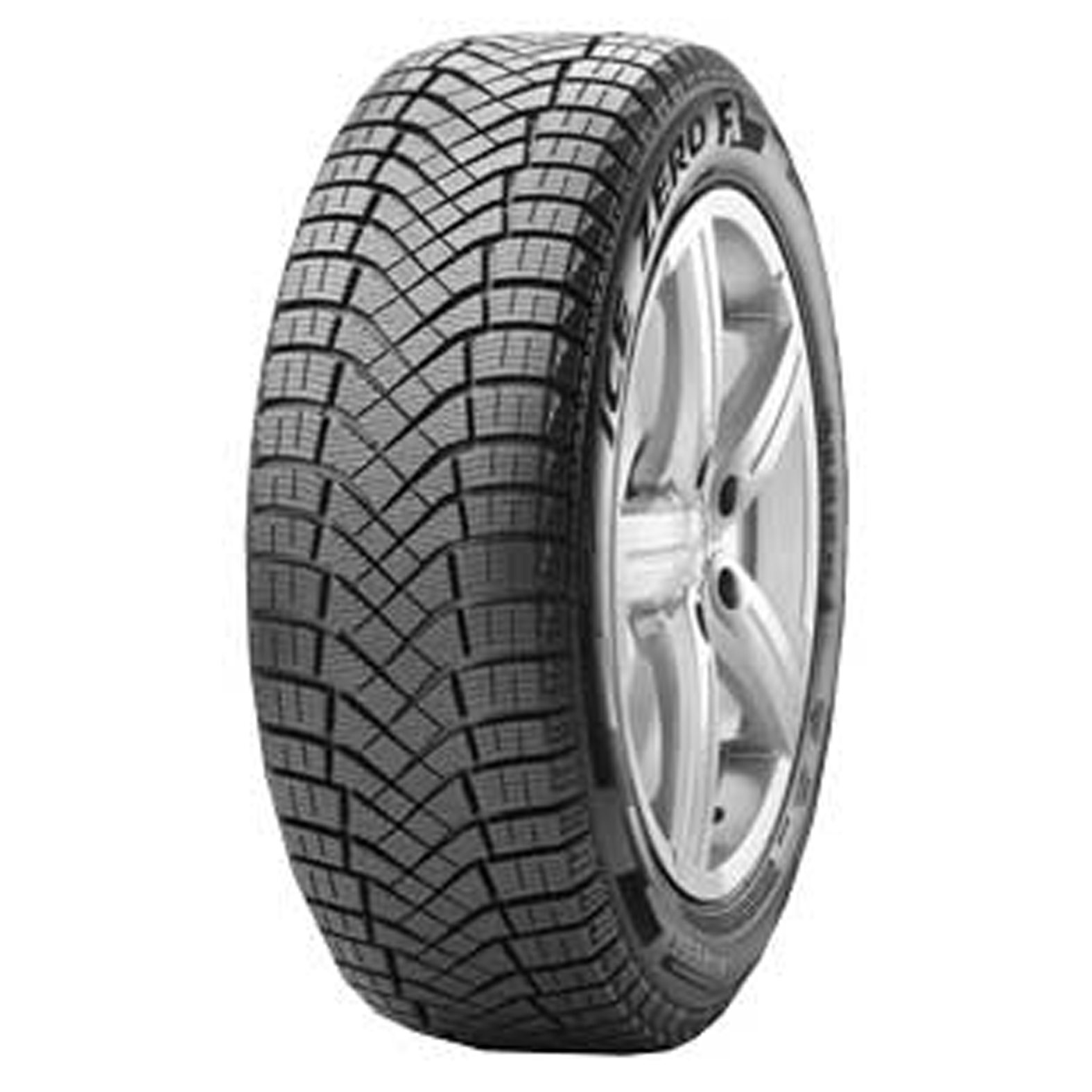 Pirelli Winter Ice Zero FR tire - angle