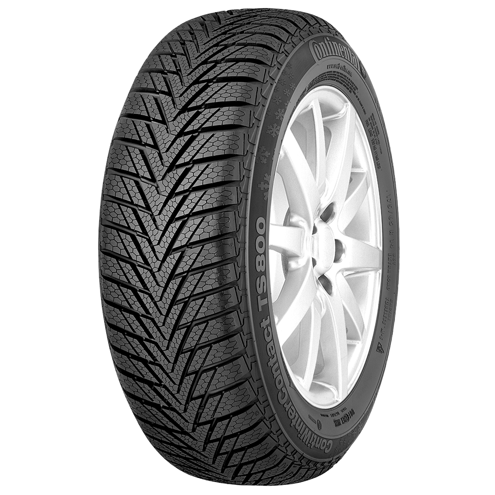 Continental CONTIWINTERCONTACT TS800 tire - angle
