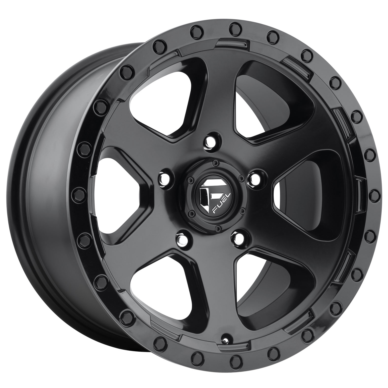Fuel Ripper Black Matte Wheel