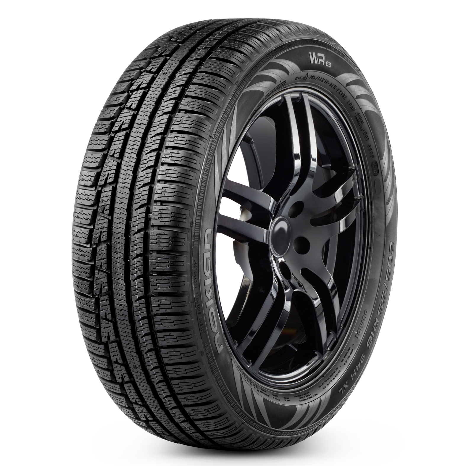 Nokian Tyres WRG3 tire - angle