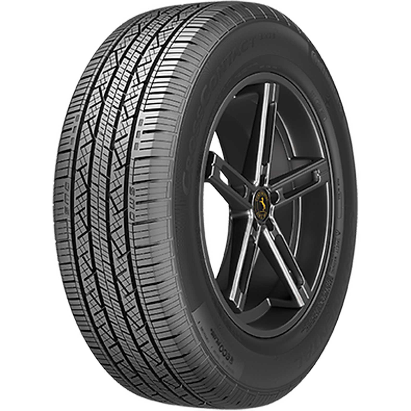 Continental CrossContact LX25 tire - angle
