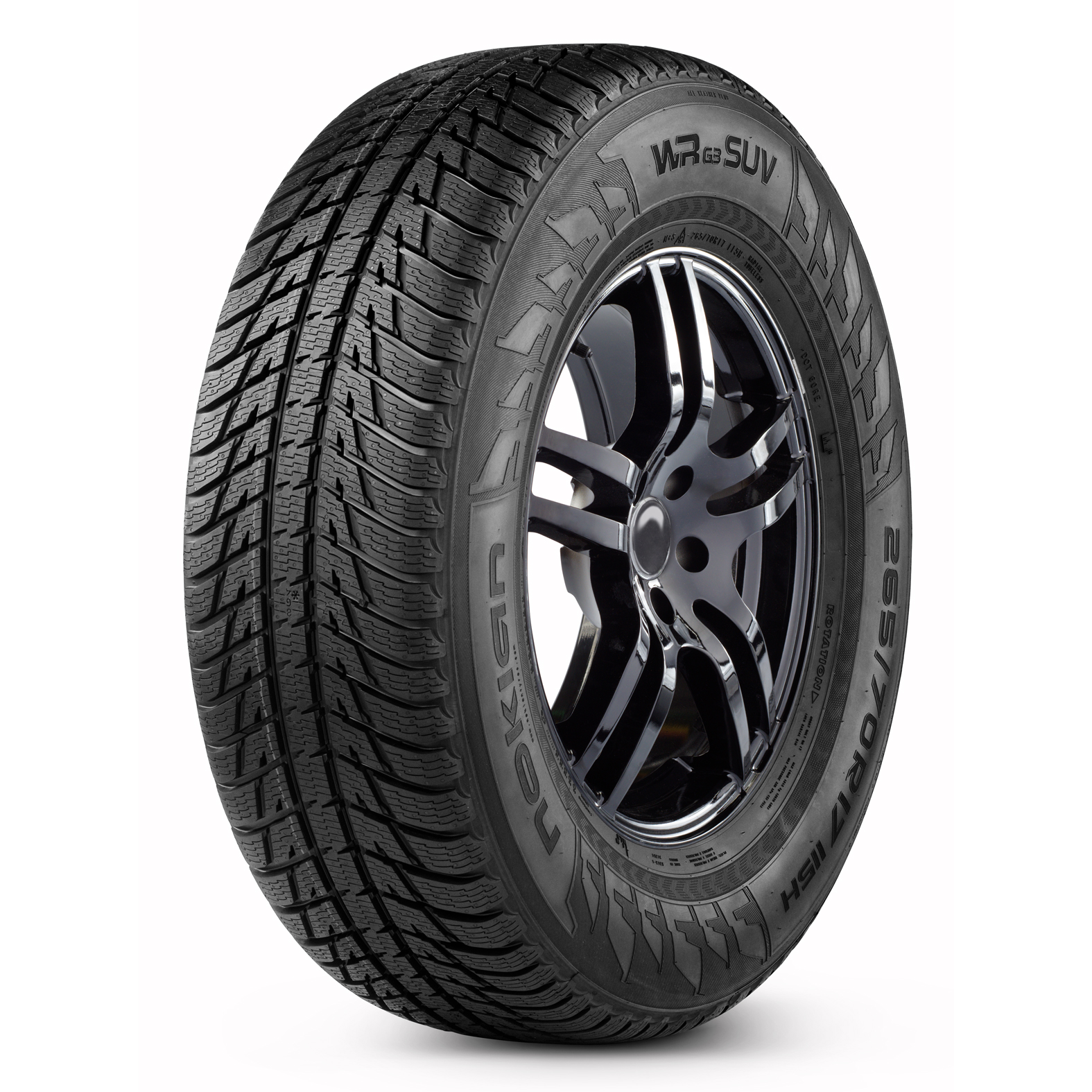 Nokian Tyres WRG3 SUV tire - angle