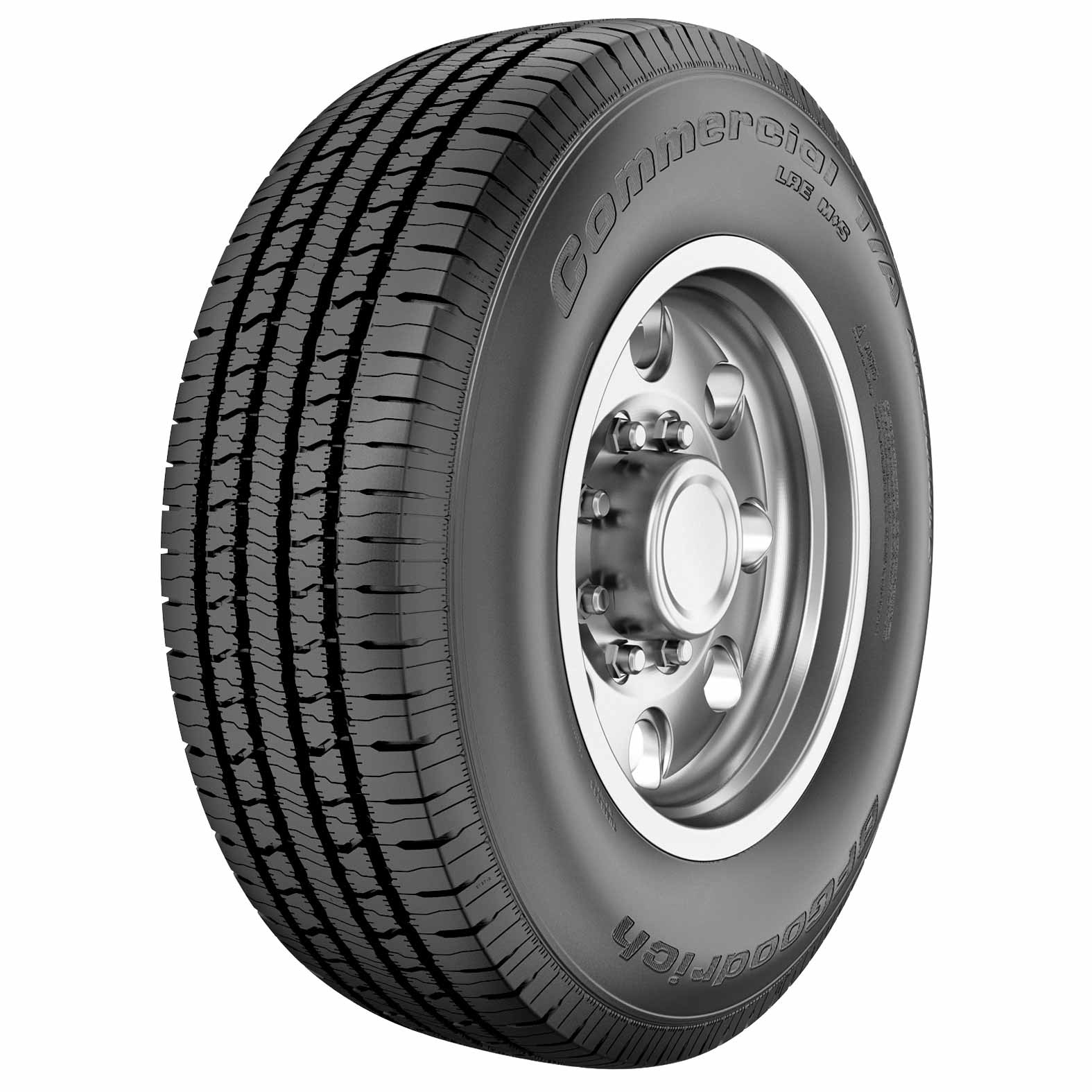 BFGoodrich Commercial T/A All-Season 2 tire - angle