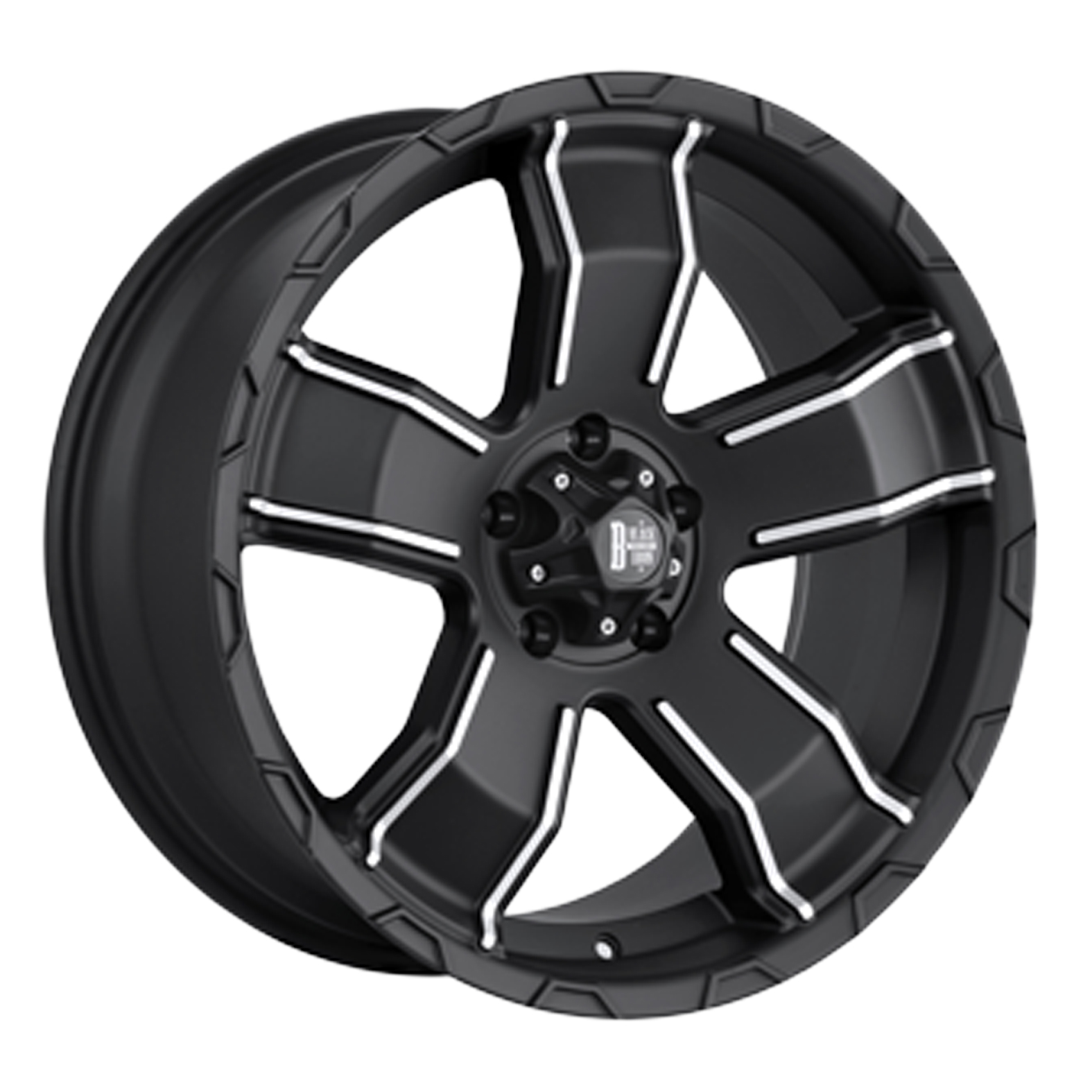 Black Iron Renegade Black Matte Wheel