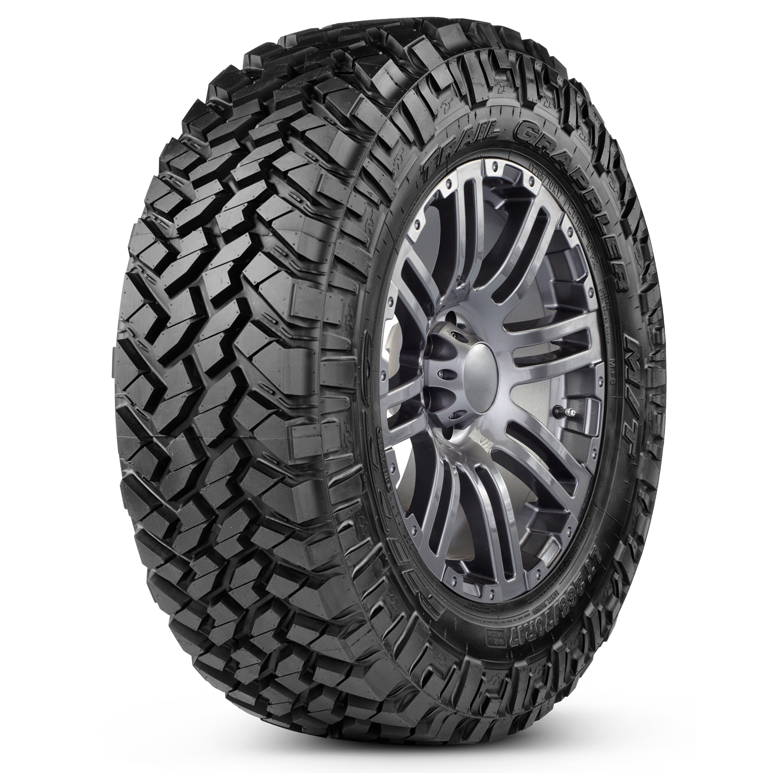 Nitto Trail Grappler M/T tire - angle