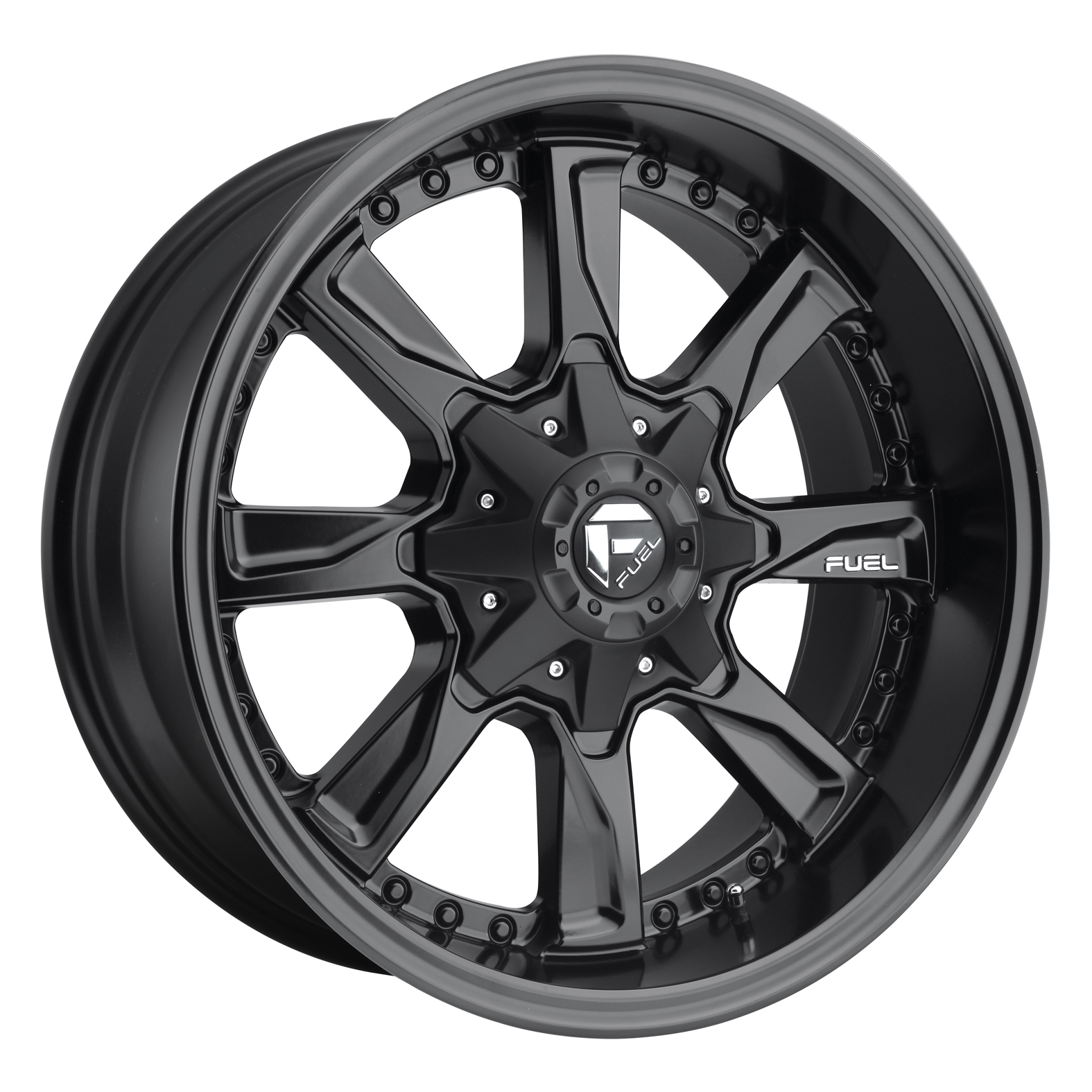 Fuel Hydro Black Wheel
