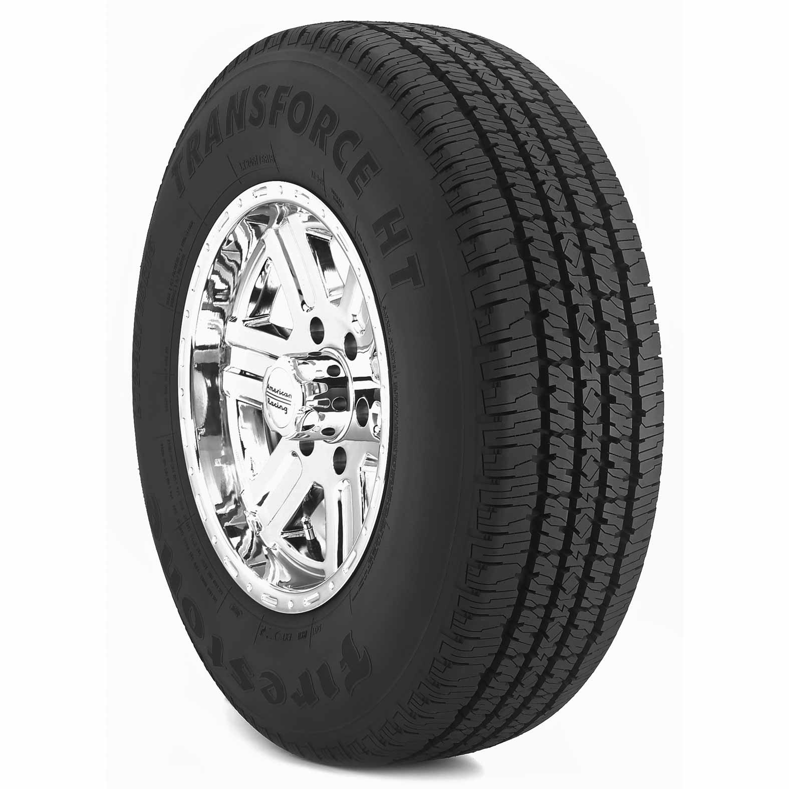 Firestone Transforce H/T tire - angle