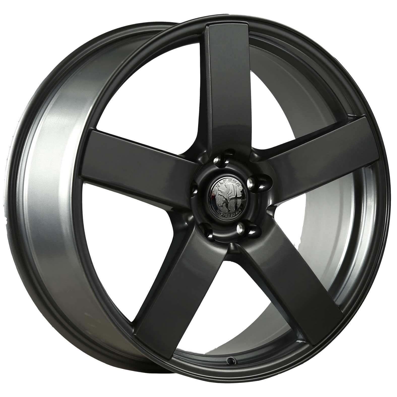 Klasse Bavaria Black Satin Wheel