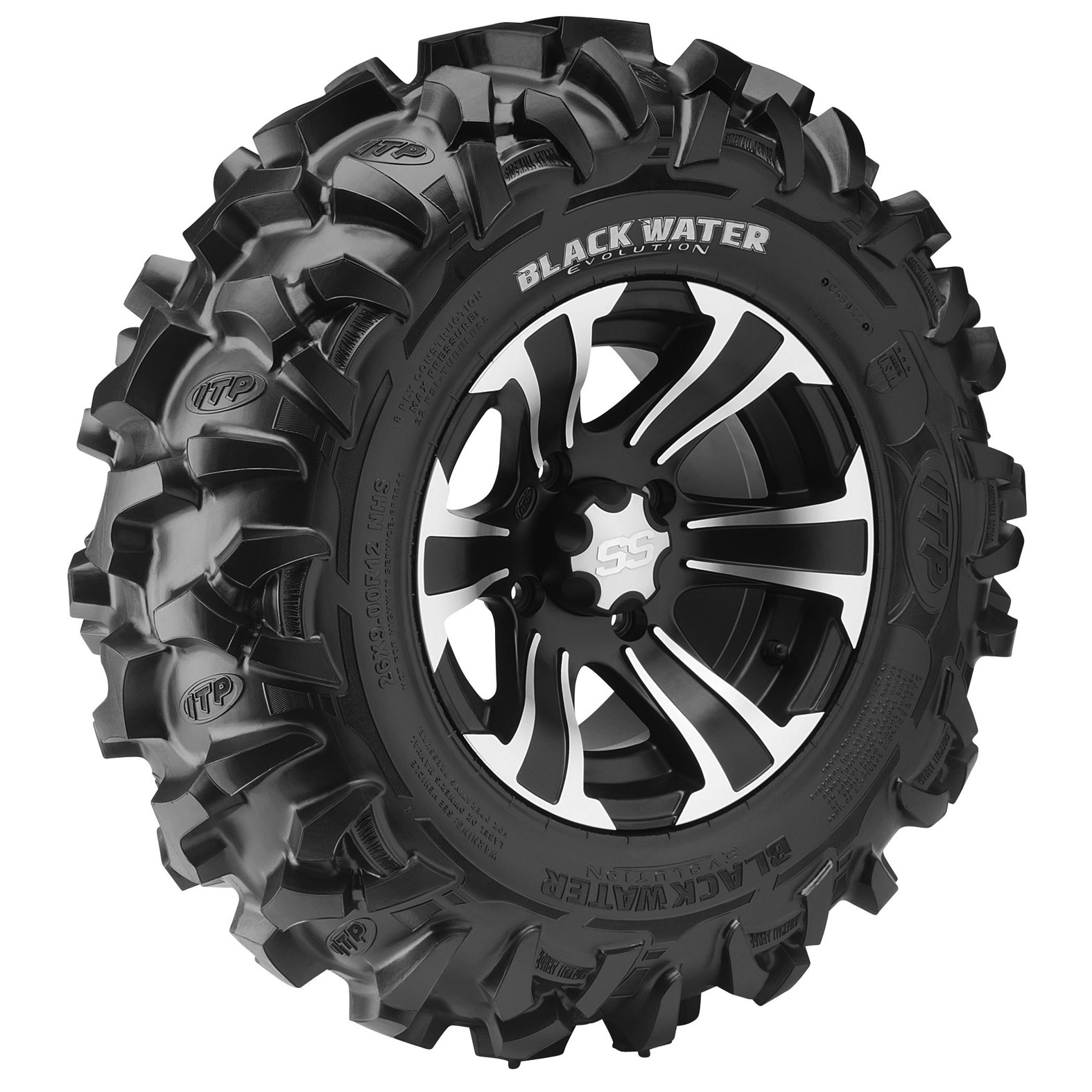 ITP Blackwater Evolution ATV Tire - Angle