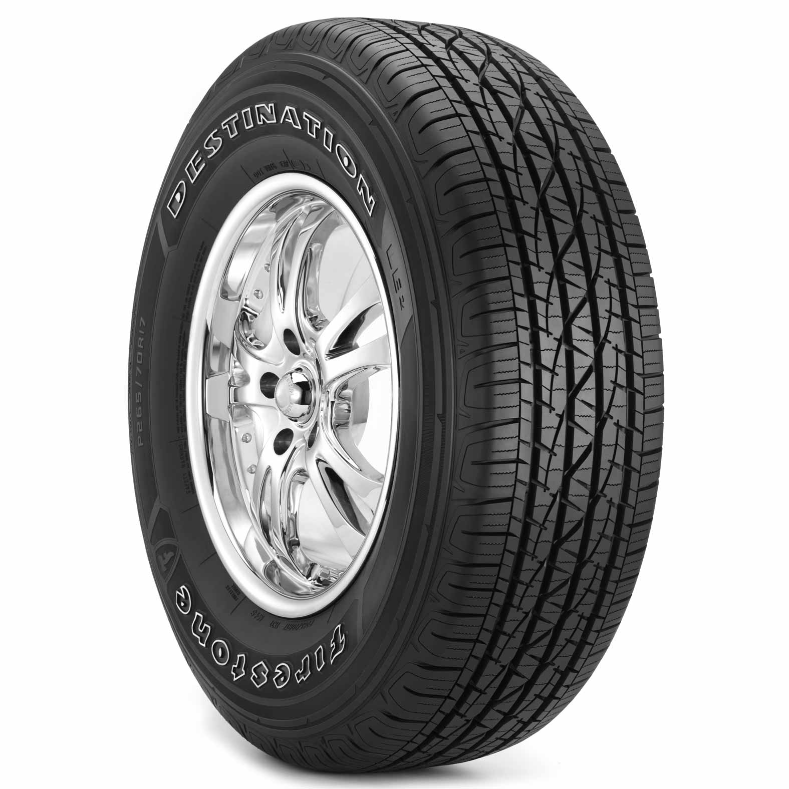 Firestone Destination LE2 tire - angle