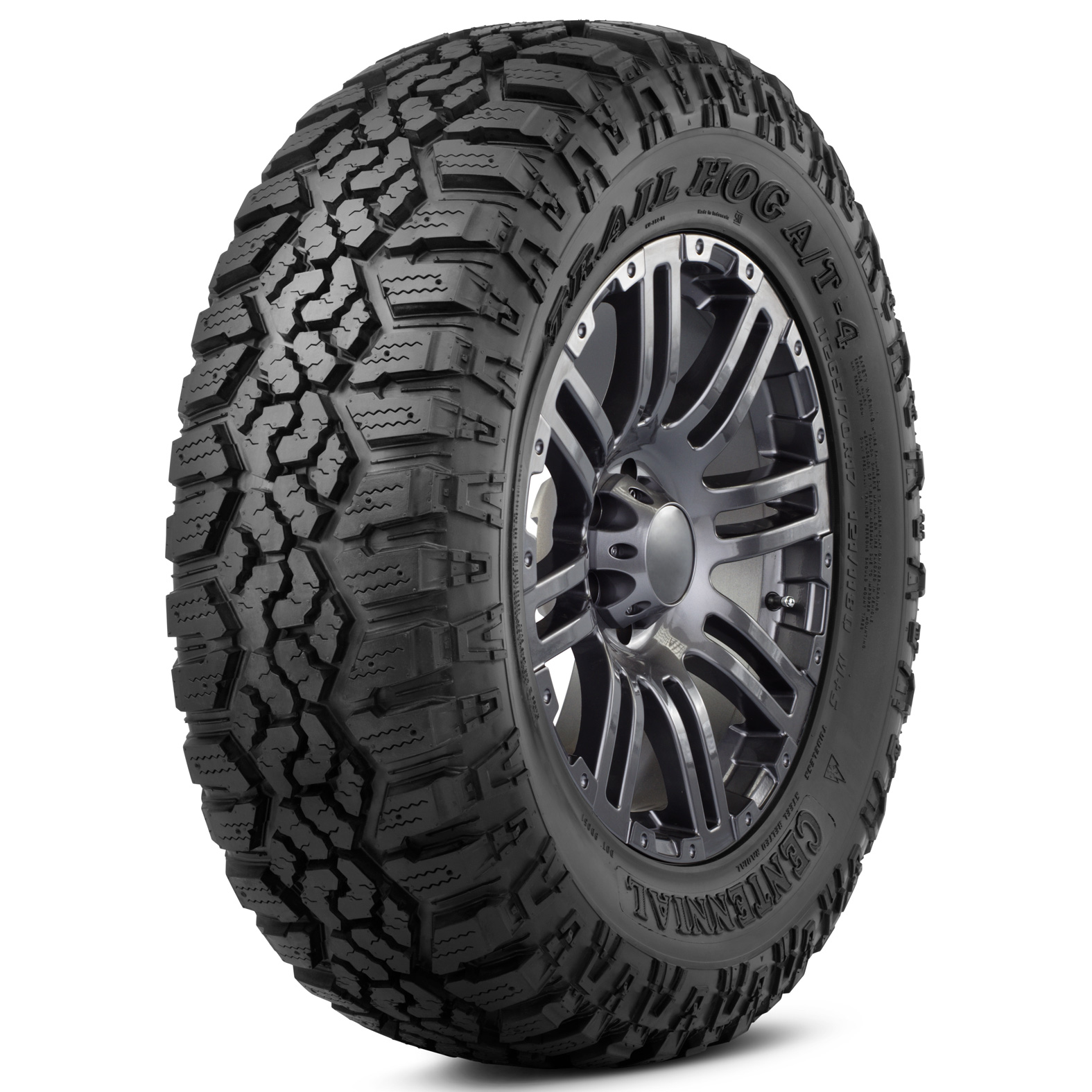 Centennial Trail Hog AT-4 tire - angle